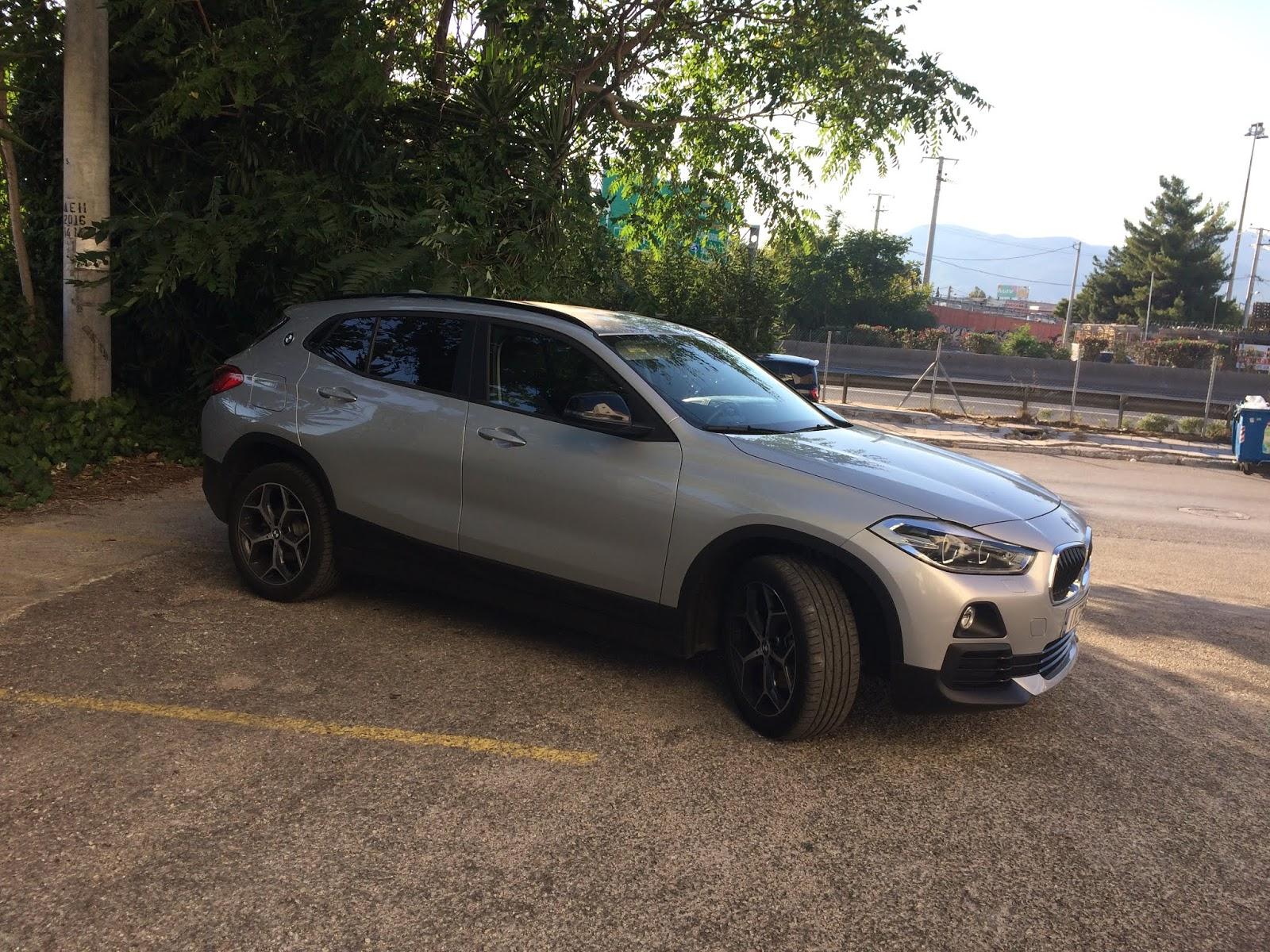 IMG 1791 Οδηγούμε τη BMW X2 sDrive 18i BMW, BMW X2, TEST, ΔΟΚΙΜΕΣ