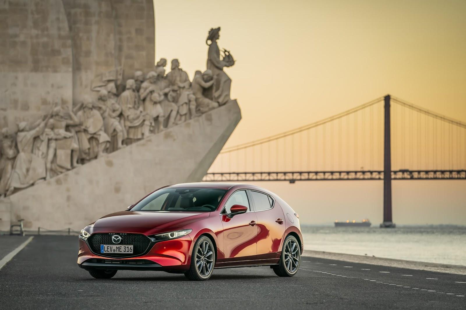 Mazda3 HB SoulRedCrystal Still 12 Ήρθε στην Ελλάδα το νέο Mazda3 με τον 1,5λιτρο των 120 ίππων