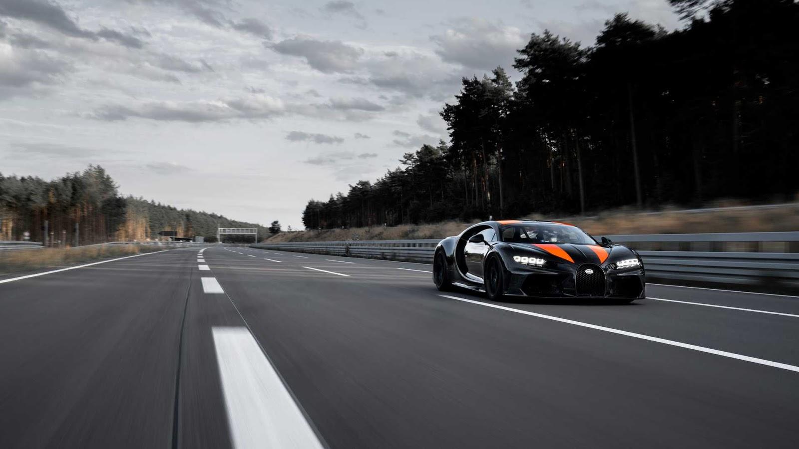 bugatti chiron sport built for top speed run Κυνηγώντας το μαγικό 500άρι