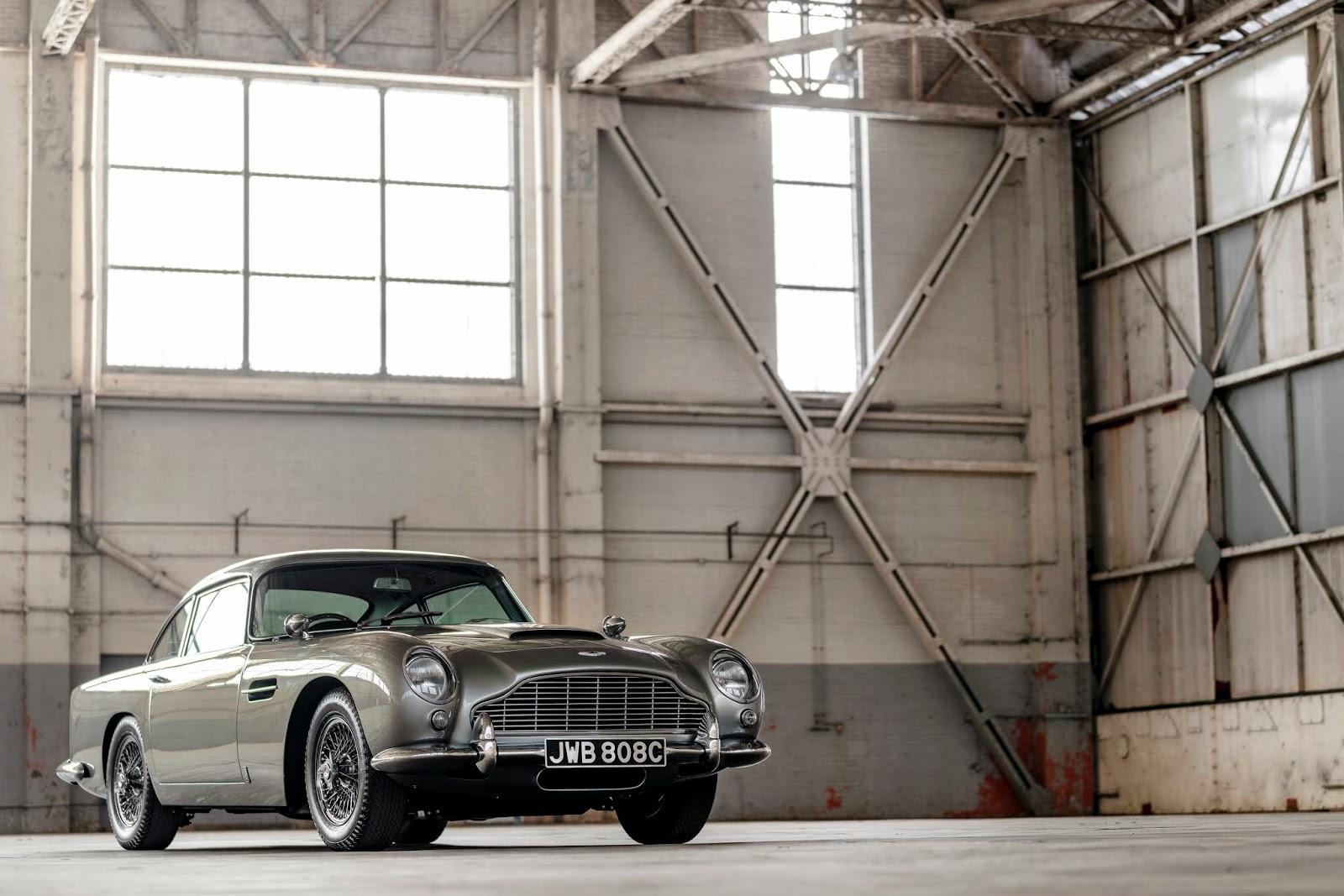 1963 1966 db5 21 1 Ταξιδεύοντας σαν άλλοτε, James Bond, με την Aston Martin DB5