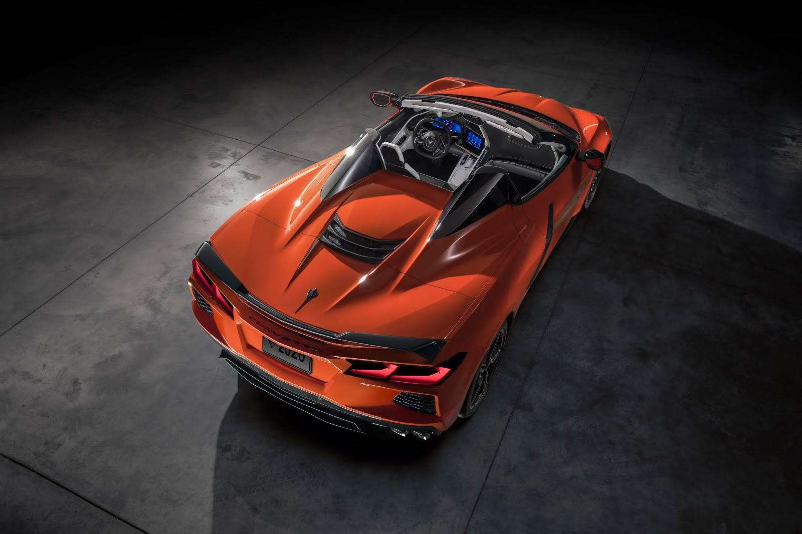 2020 Chevrolet Corvette Stingray Convertible 001 Γιατί η C8 Convertible είναι η καλύτερη Corvette ever C8, Chevrolet, Chevrolet Corvette, Corvette, zblog, ειδήσεις, καινούργιο, καινούρια, καινούριο