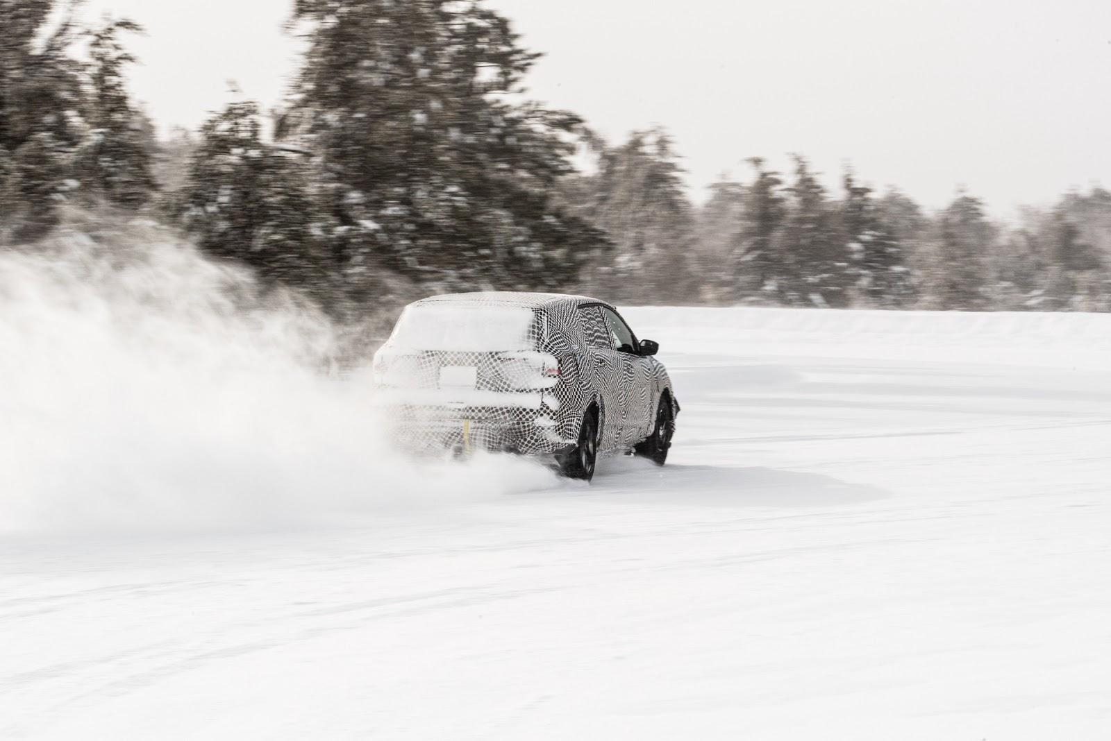 Winter2Btesting2BFord2BEV 02 Δες το ηλεκτρικό SUV της Ford να ντριφτάρει στον πάγο! Electric cars, Ford, video, videos