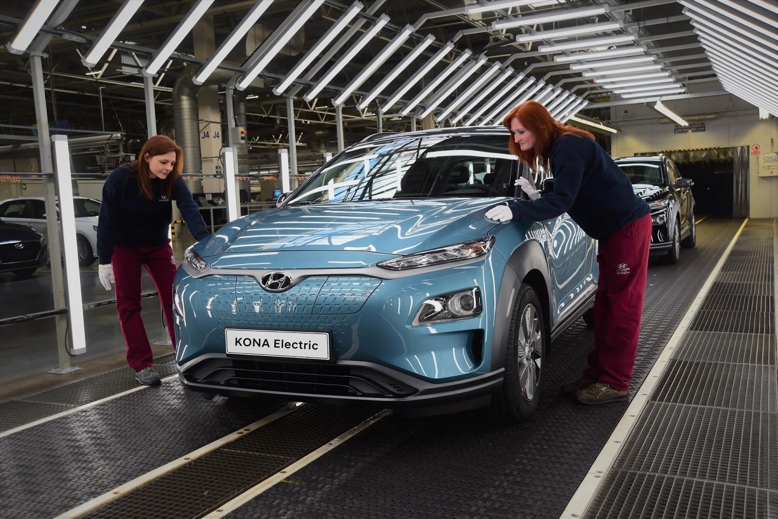 KONA2BEV2BHMMC2B2 80.000 οχήματα μηδενικών ρύπων θα ρίξει στην Ευρώπη η Hyundai