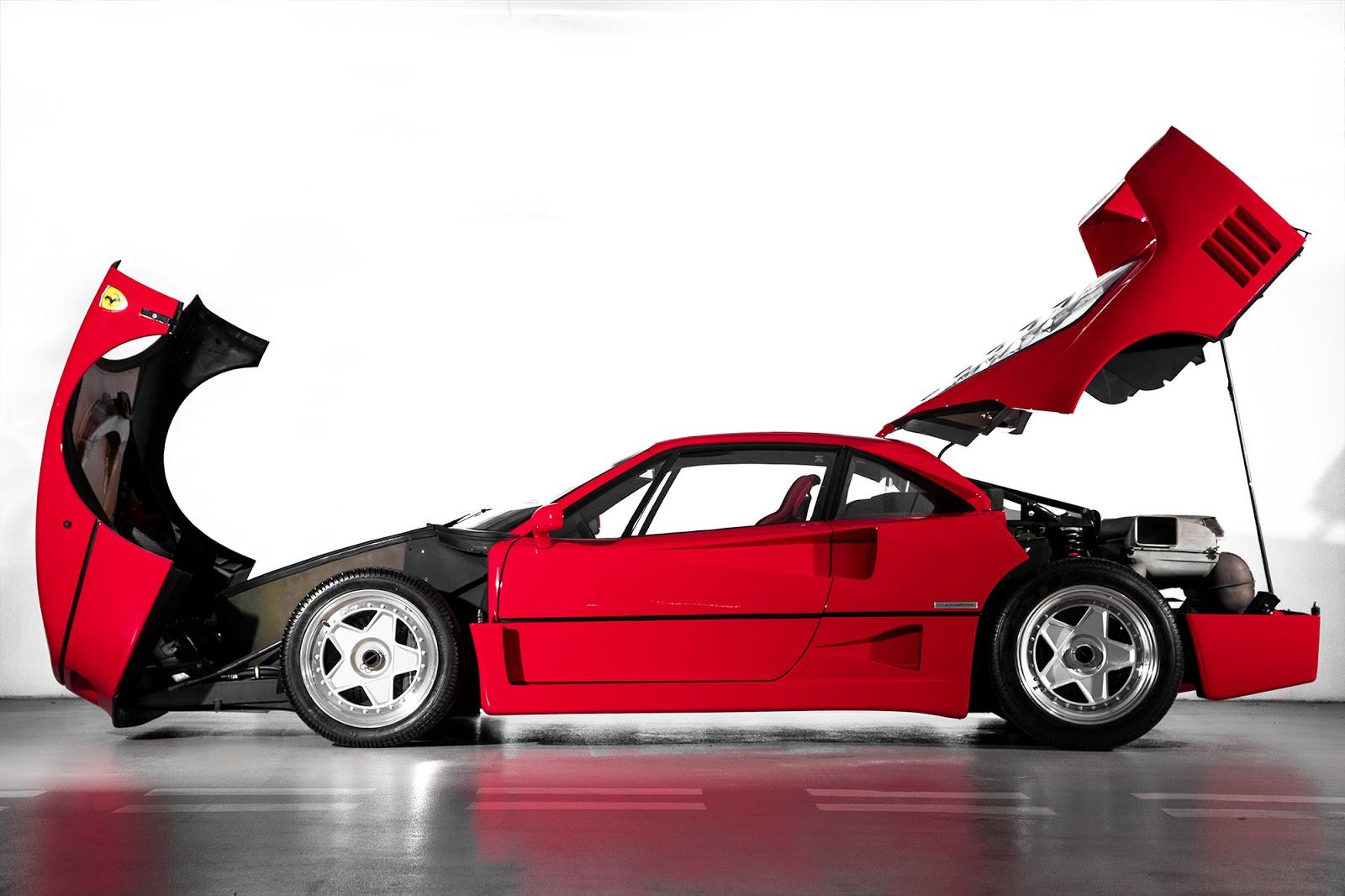 MK5 4890 F40. O μύθος, ο θρύλος F40, Ferrari, Ferrari F40, retrocar, retrocar sunday, zblog