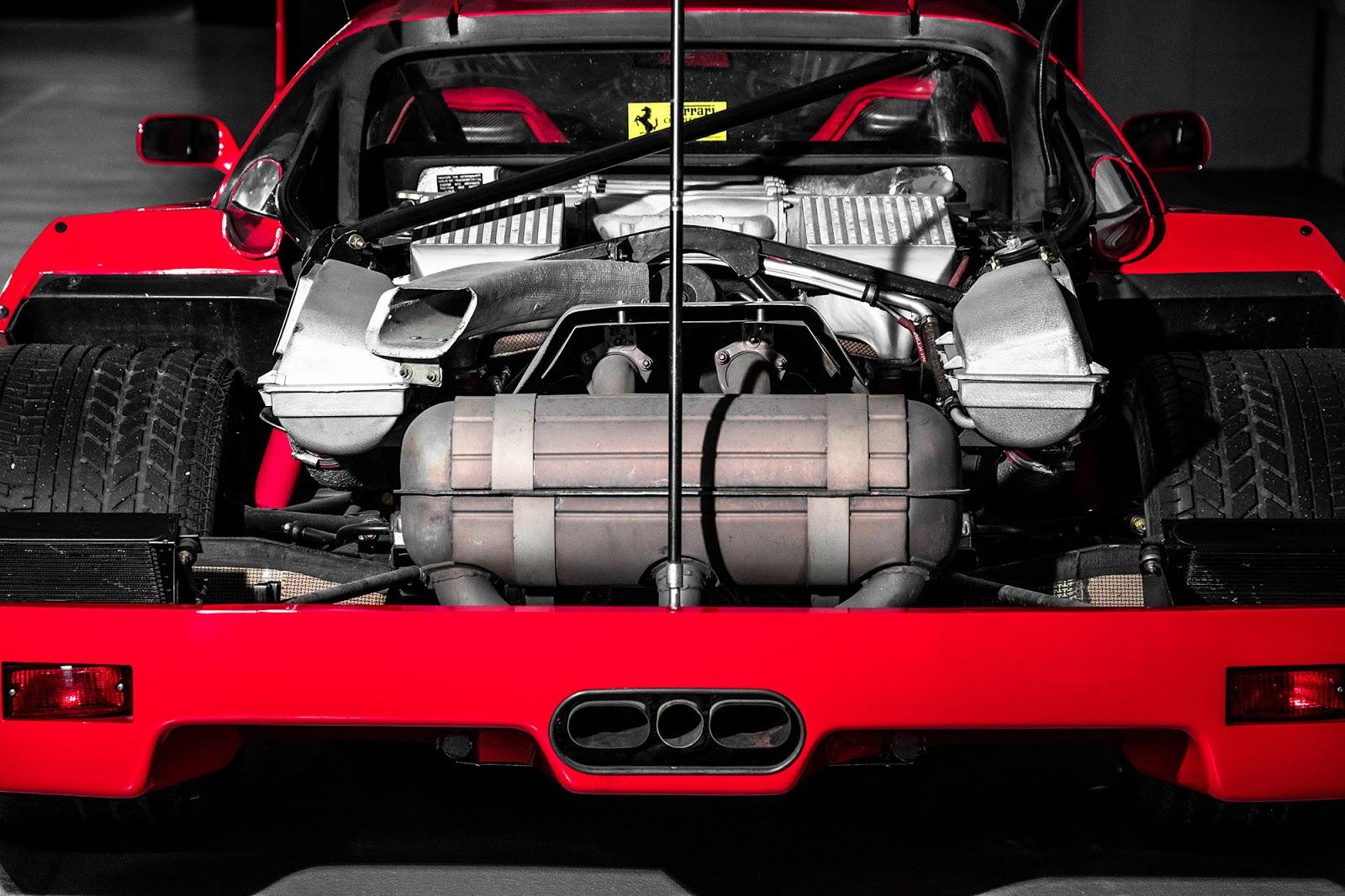 MK5 4905 F40. O μύθος, ο θρύλος F40, Ferrari, Ferrari F40, retrocar, retrocar sunday, zblog