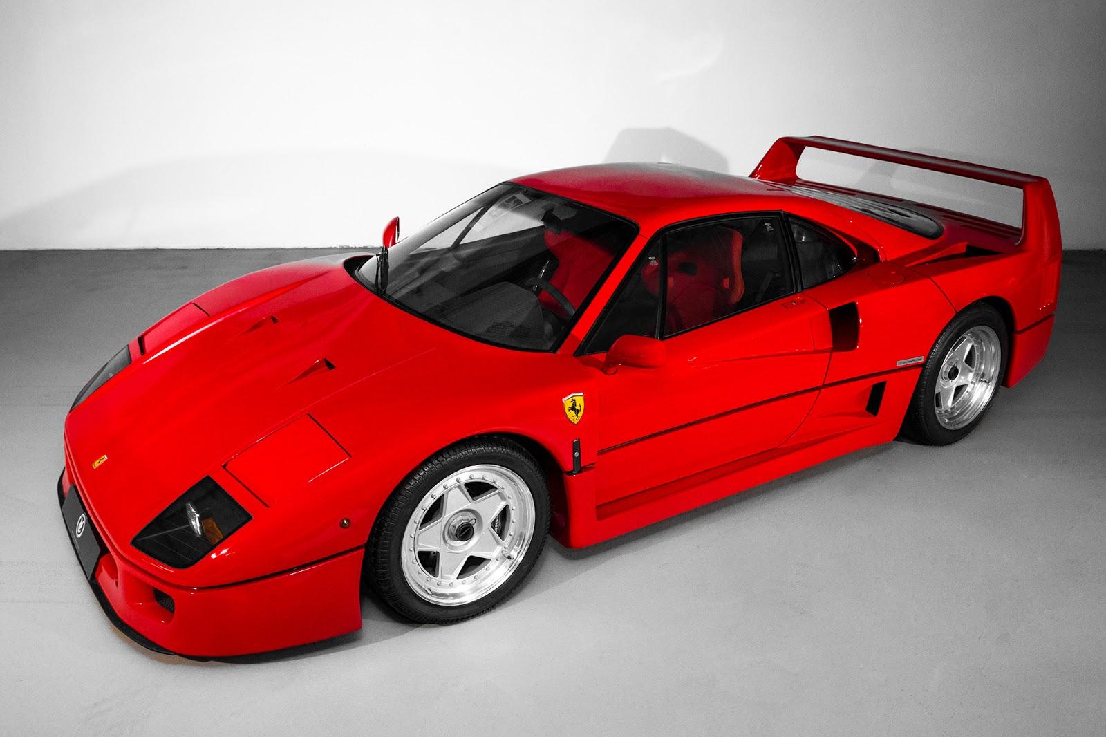 MK5 5006 F40. O μύθος, ο θρύλος F40, Ferrari, Ferrari F40, retrocar, retrocar sunday, zblog