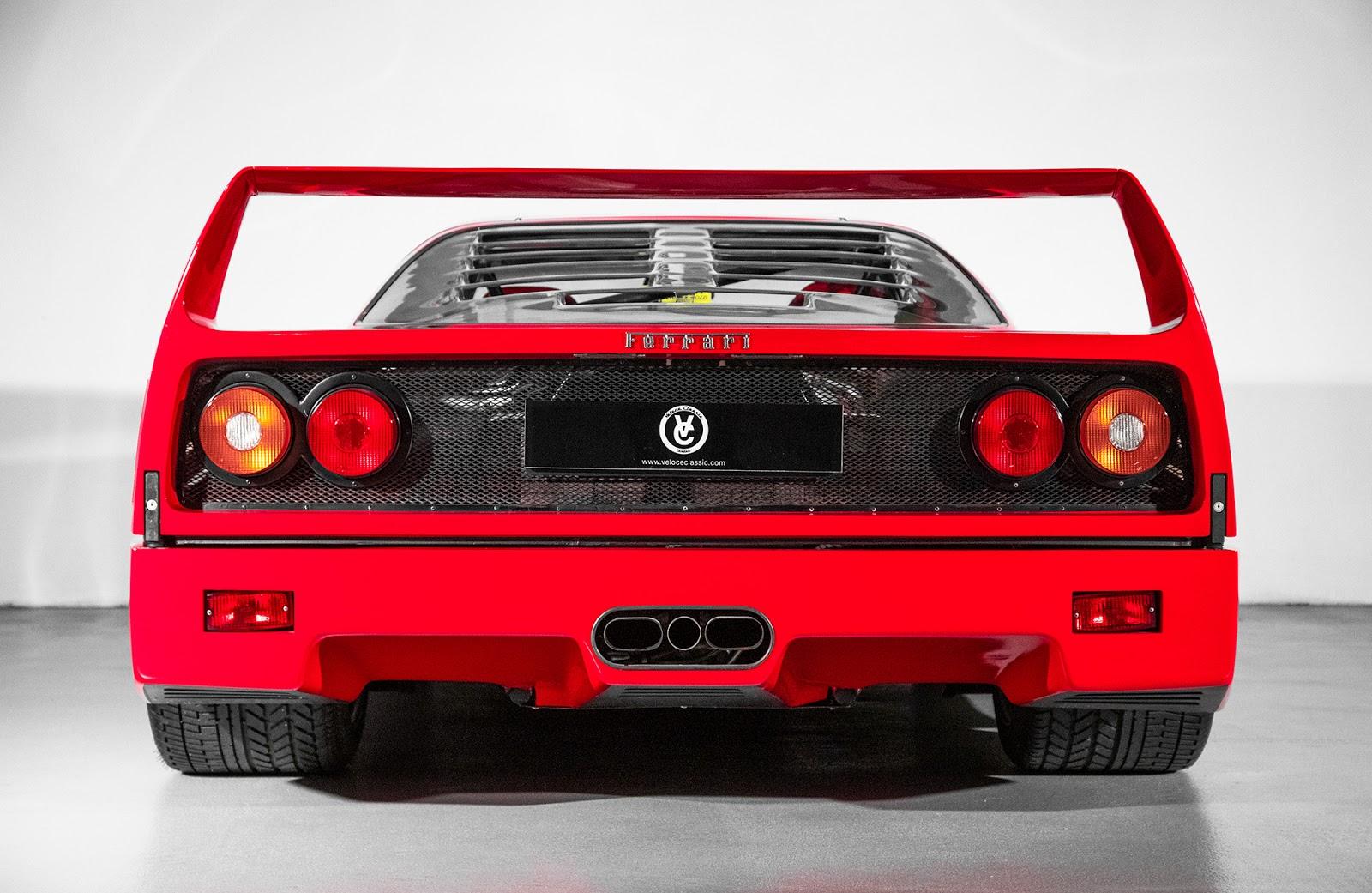 MK5 5092 F40. O μύθος, ο θρύλος F40, Ferrari, Ferrari F40, retrocar, retrocar sunday, zblog