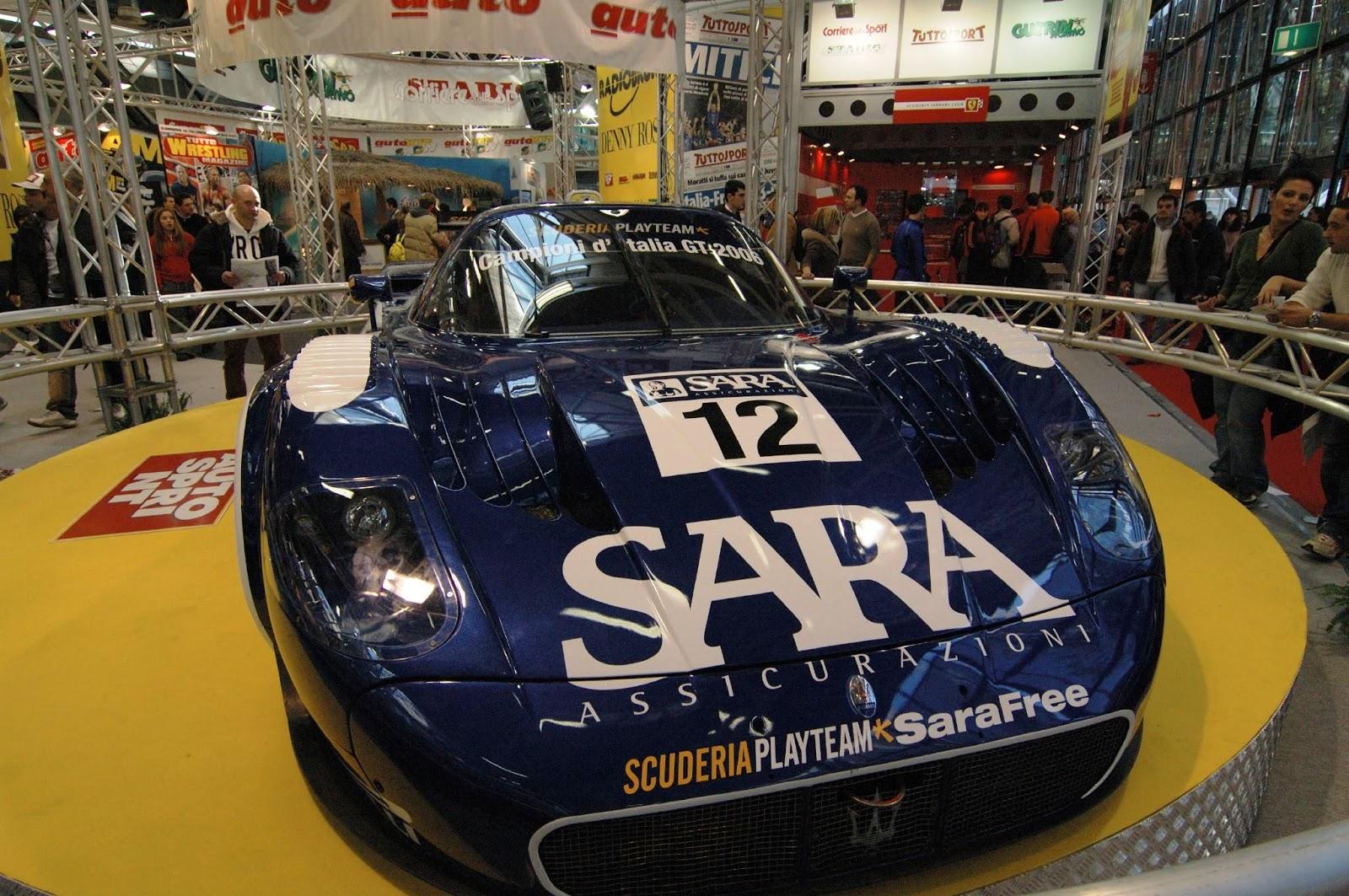 MC12 race car front Maserati MC12. Η Enzo Aperta. Maserati, Maserati MC12, MC12, retrocar, retrocar sunday, zblog