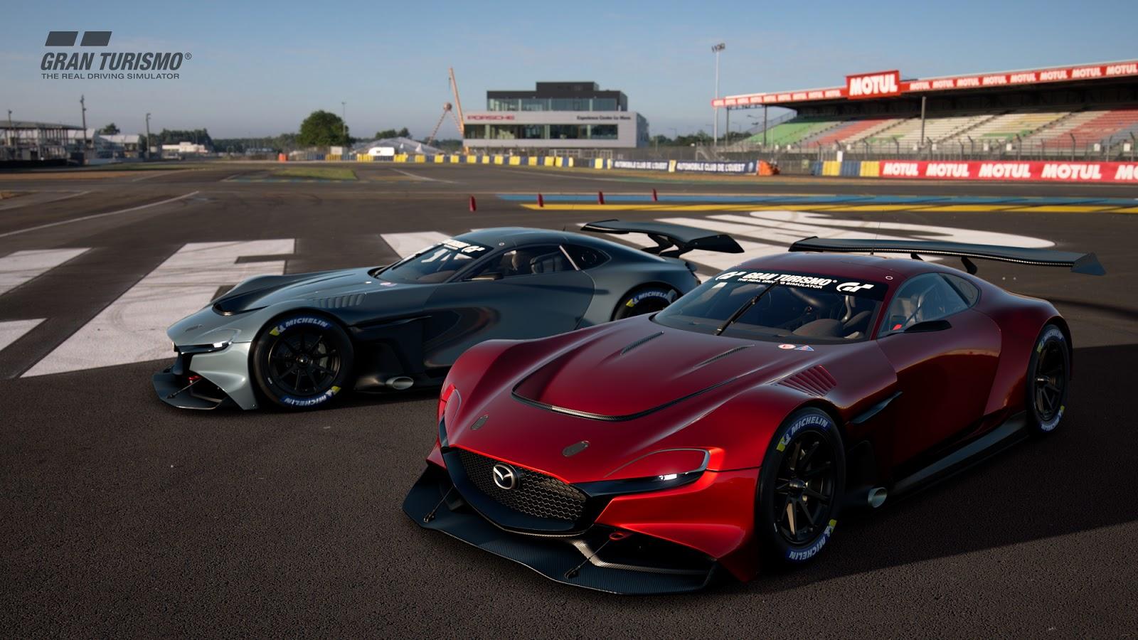 To Mazda RX-Vision επιστρέφει (στο Playstation)
