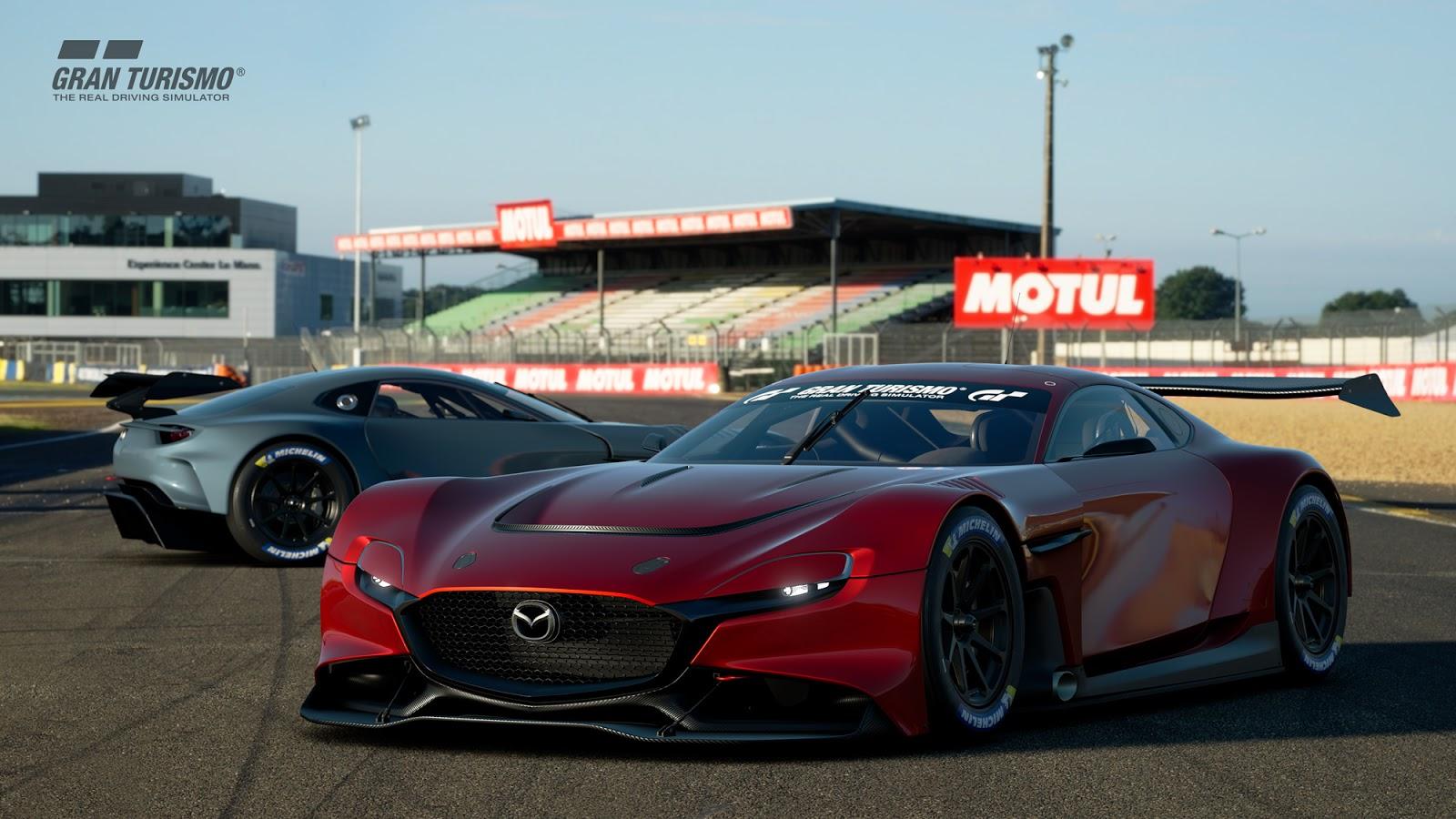202005 rxvgt3pk rxvgt3 sarthe 01 1 To Mazda RX-Vision επιστρέφει (στο Playstation) Mazda, Mazda RX-7, Mazda RX-Vision Concept, Mazda RX8, zblog, αγωνες, ΦΩΤΟ, φωτογραφίες