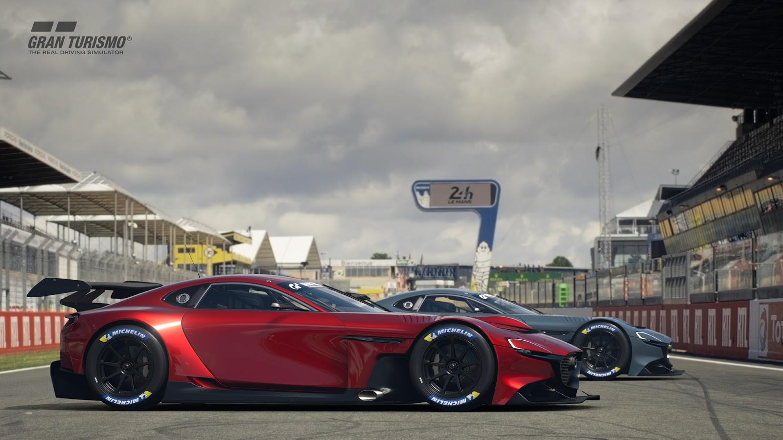 To Mazda RX-Vision επιστρέφει (στο Playstation) Mazda, Mazda RX-7, Mazda RX-Vision Concept, Mazda RX8, zblog, αγωνες, ΦΩΤΟ, φωτογραφίες
