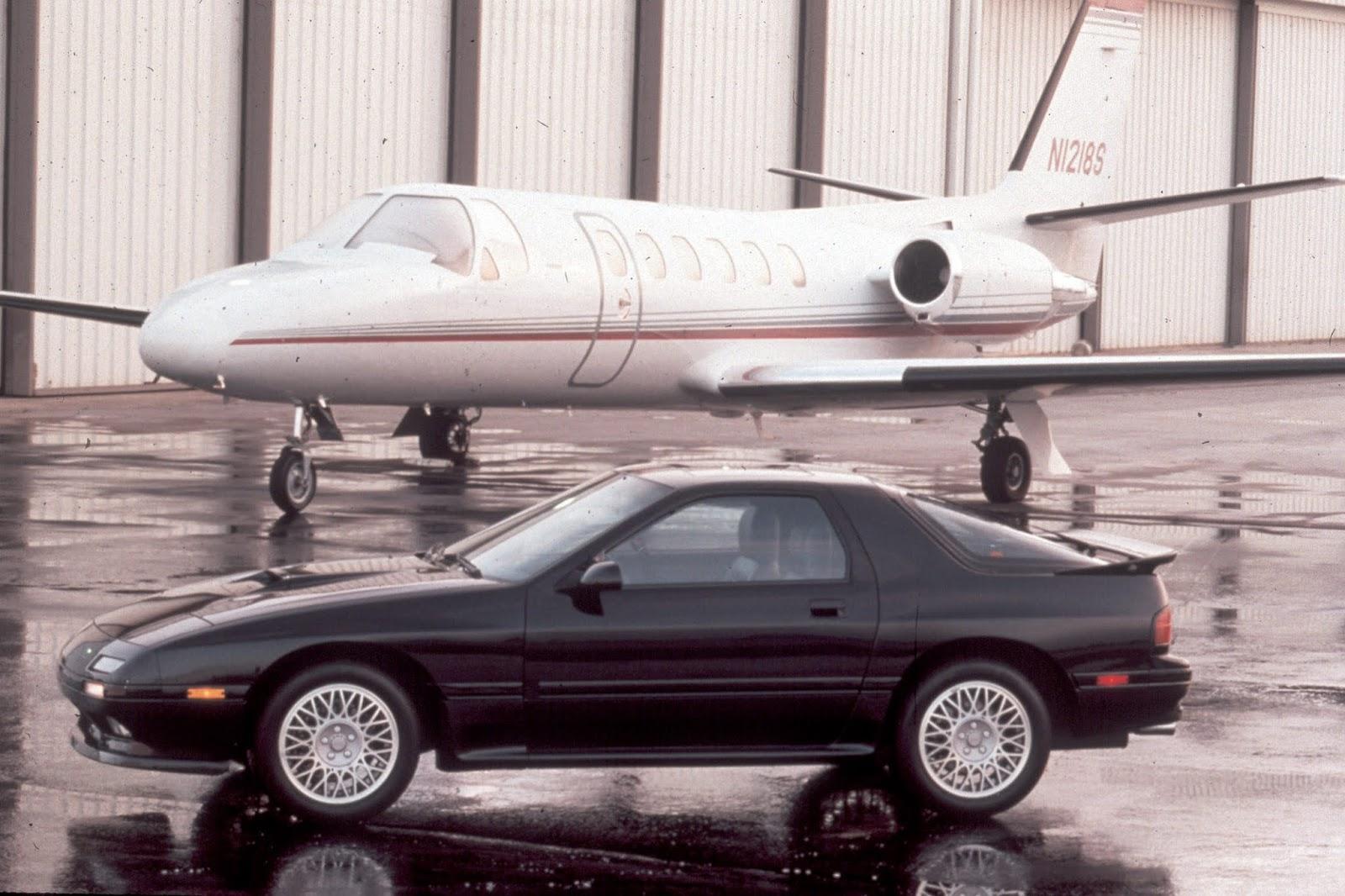 Mazda RX 7 Generation 2 Turbo 1991 Mazda RX-7. Επαναπροσδιορίζοντας την οδηγική απόλαυση μέσω του περιστροφικού κινητήρα Mazda, Mazda RX-7, Rotary, RX7, Wankel, zblog