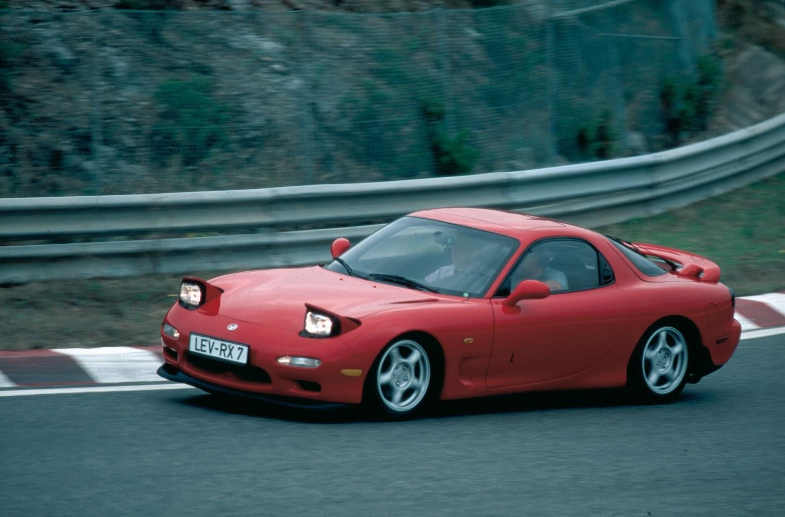 Mazda RX 7 Generation 3 1993 Mazda RX-7. Επαναπροσδιορίζοντας την οδηγική απόλαυση μέσω του περιστροφικού κινητήρα Mazda, Mazda RX-7, Rotary, RX7, Wankel, zblog