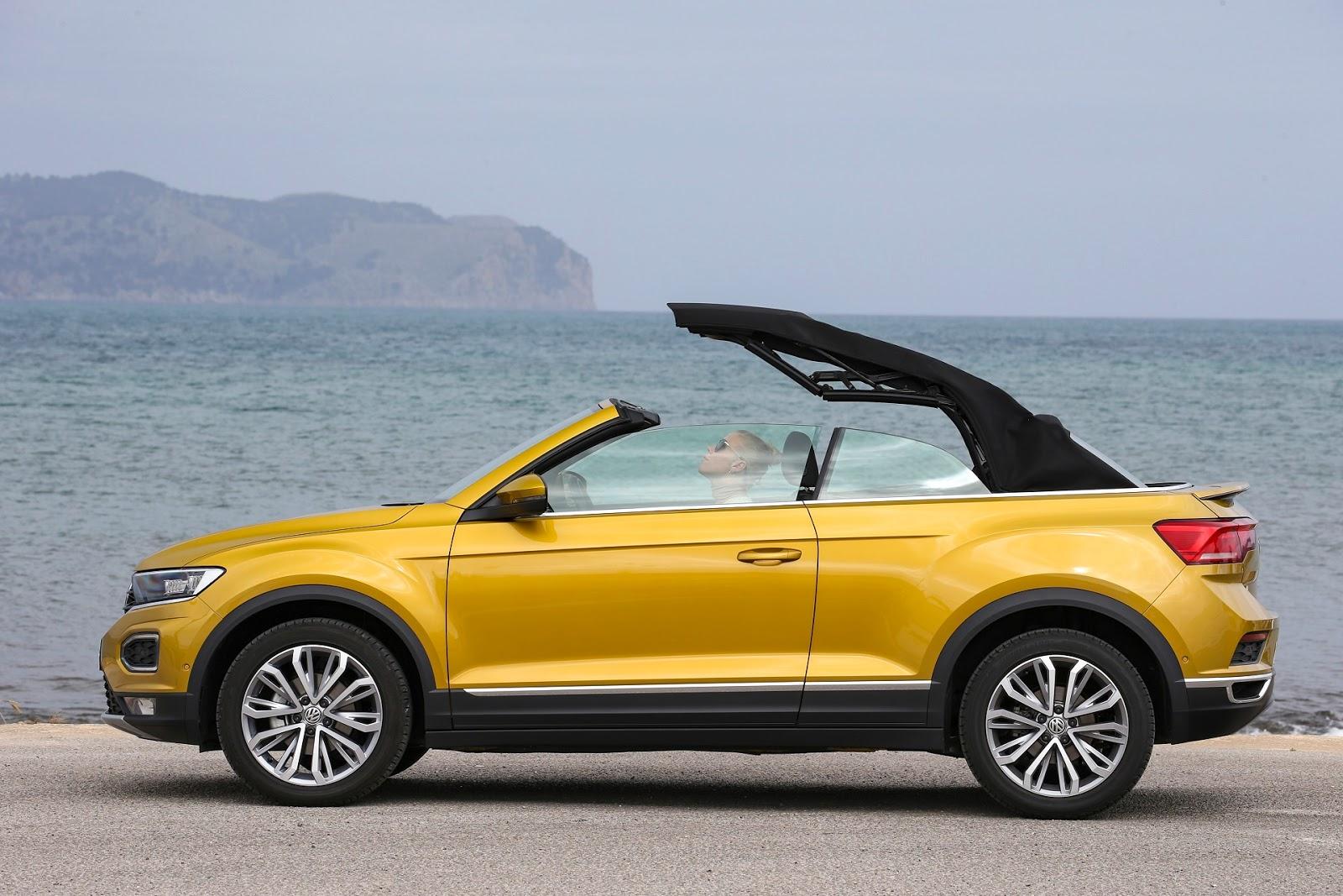 VOLKSWAGEN2BT ROC2BCABRIOLET 3 Το VW T-Roc Cabrio παράγεται εκεί που φτιαχνόταν το Beetle Cabriolet cabrio, Volkswagen, Volkswagen Golf, VW, VW Beetle