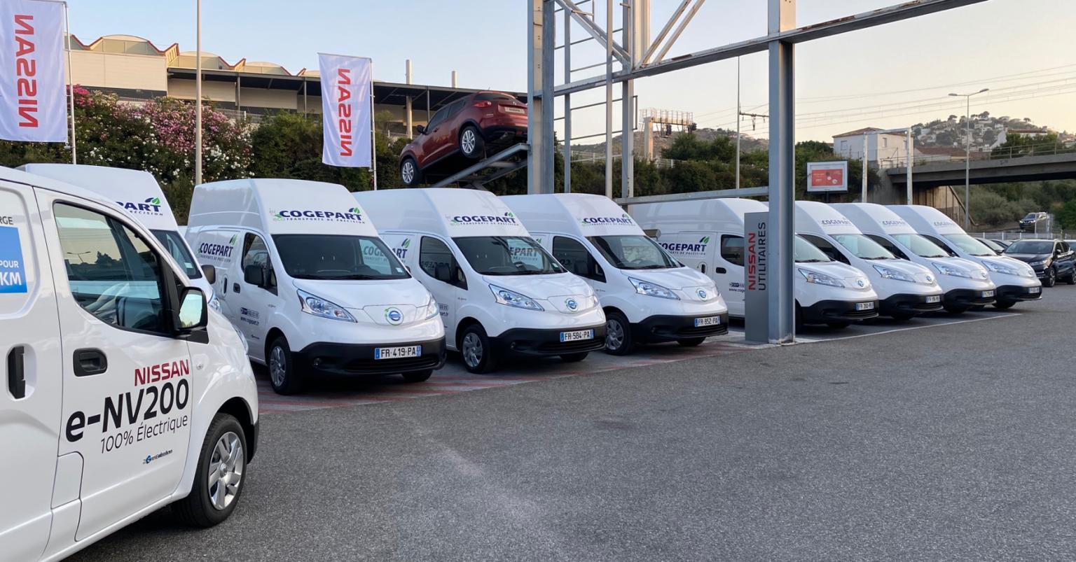 cogerpart1 Στη Μασαλία, τα Nissan e-NV200... επελαύνουν