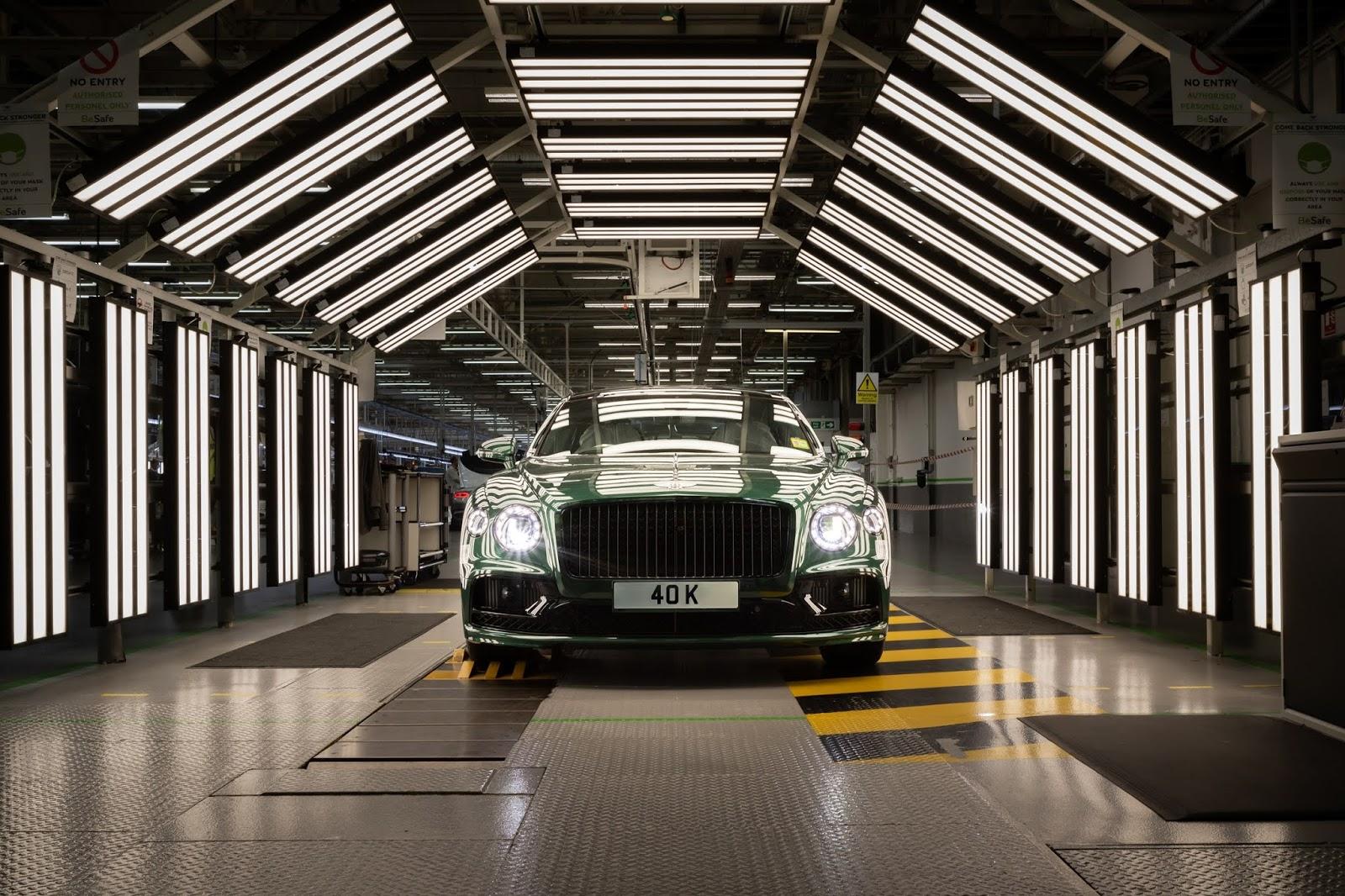 40252C000th2BBENTLEY2BFLYING2BSPUR 1 1 Η Παραγωγή Της Bentley Flying Spur Ξεπέρασε Το Ορόσημο Των 40.000 Αυτοκινήτων