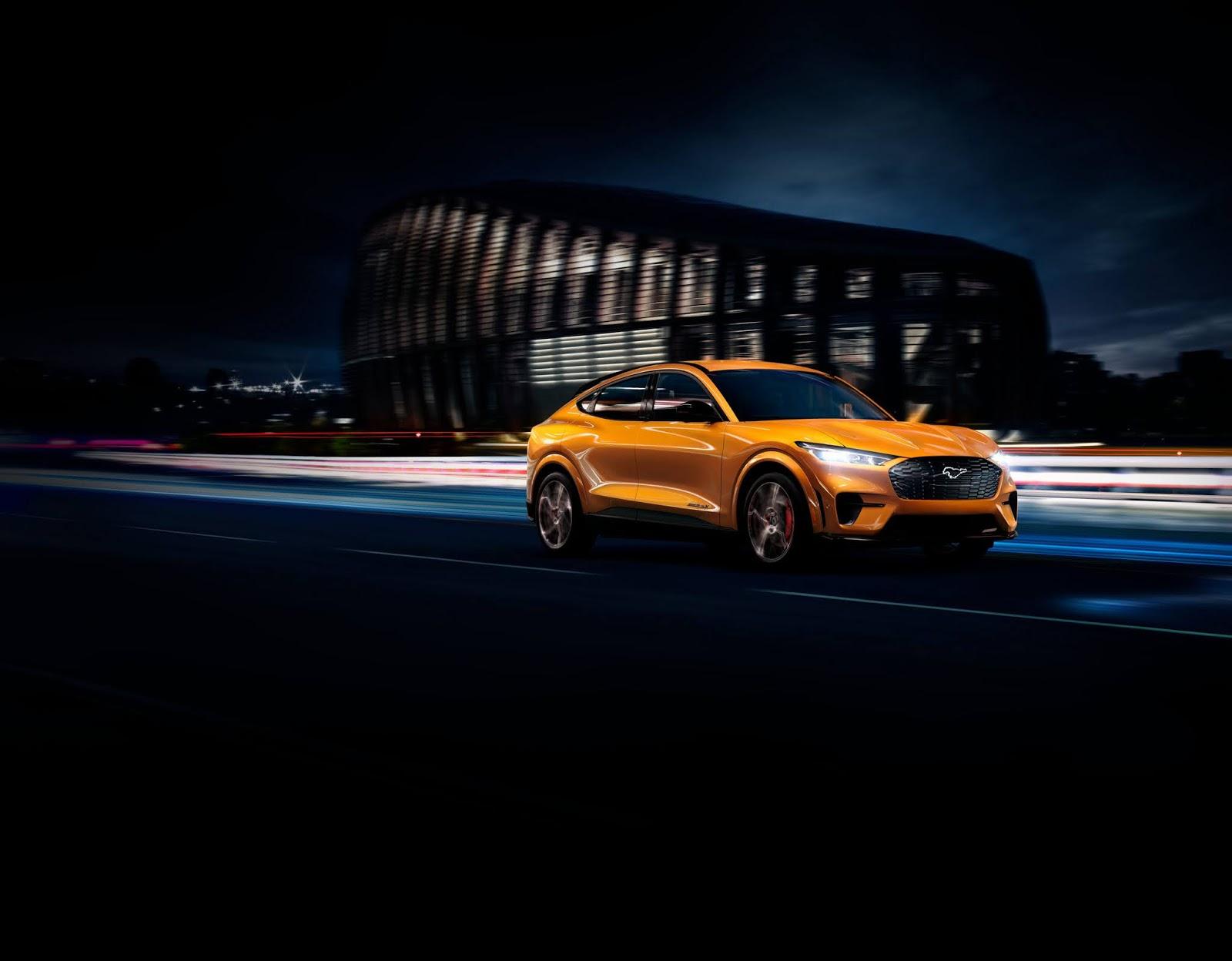 FORD2BMUSTANG2BMACH E2BGT 05 Ευρωπαϊκό ντεμπούτο για την ηλεκτρική Mustang Mach-E GT των 465 ίππων Electric cars, electric vehicles, EV, Ford, Ford Mustang, Ford Mustang Mach-E, ειδήσεις