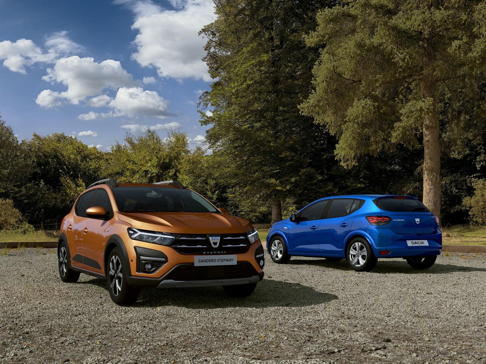 Η Dacia παρουσίασε την 3η γενιά των Sandero, Sandero Stepway και Logan
