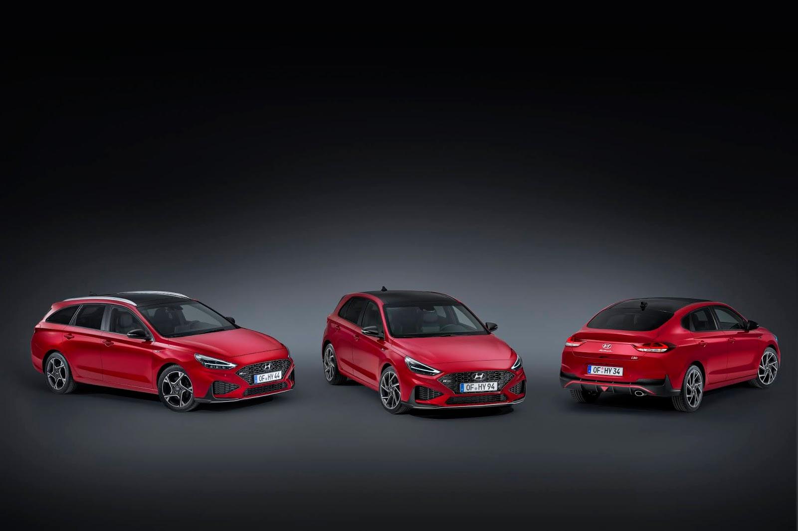 hyundai i30 n line range three 02 Για πρώτη φορά σε έκδοση N Line το Hyundai i30 Hyundai, Hyundai i30, ειδήσεις, καινούργιο, καινούρια, καινούριο