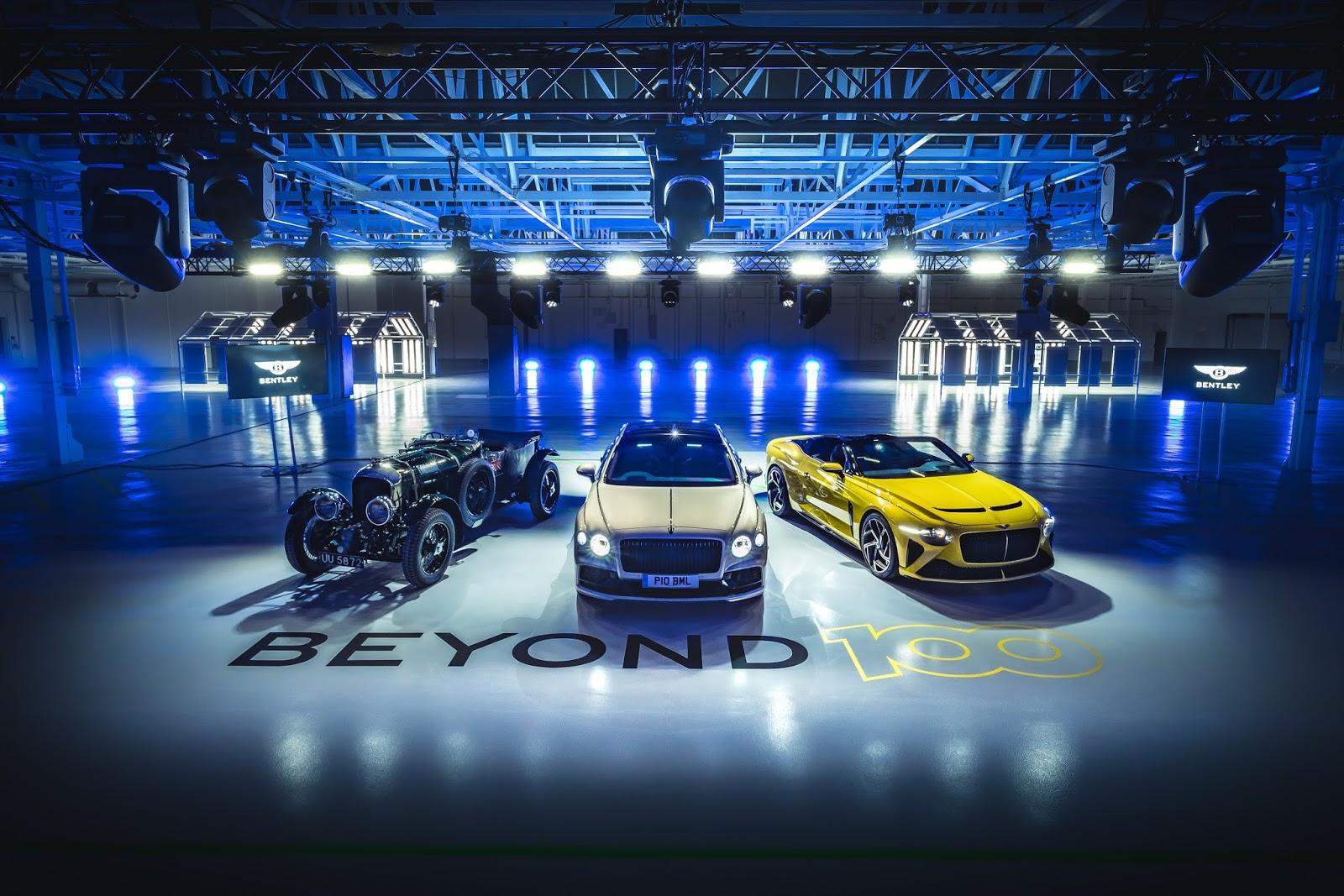 "Beyond1002B 2B1 ""BEYOND100"": Η Στρατηγική Της Bentley Για Τον Επόμενο Αιώνα Της"