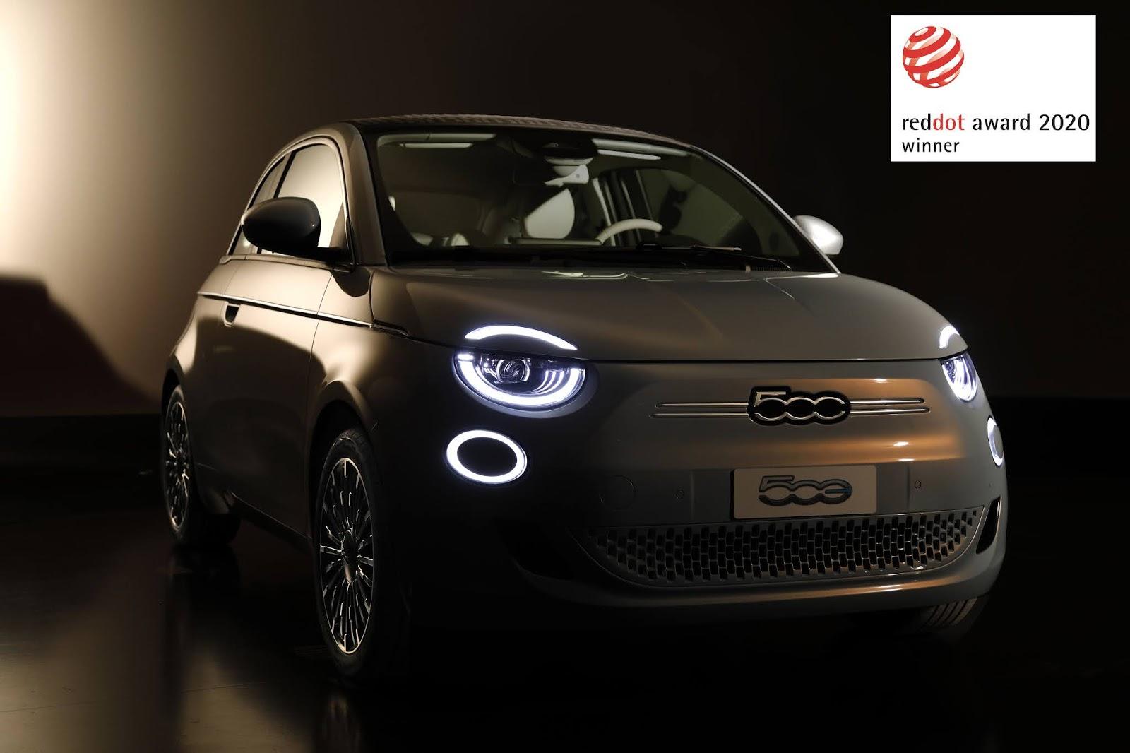 Fiat2BNew2B5002Bwins2Bthe2BRed2BDot2BAward2B2020 To Fiat 500 σαρώνει τα βραβεία σχεδιασμού