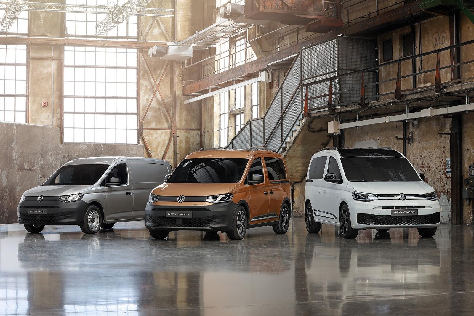 NEO2BVOLKSWAGEN2BCADDY2B5 6 Νέο Volkswagen Caddy 5: μεγαλύτερο, πρακτικότερο, αποδοτικότερο, εξυπνότερο Caddy, MPV, Volkswagen, Volkswagen Caddy, VW, VW Caddy, ειδήσεις, Επαγγελματικά
