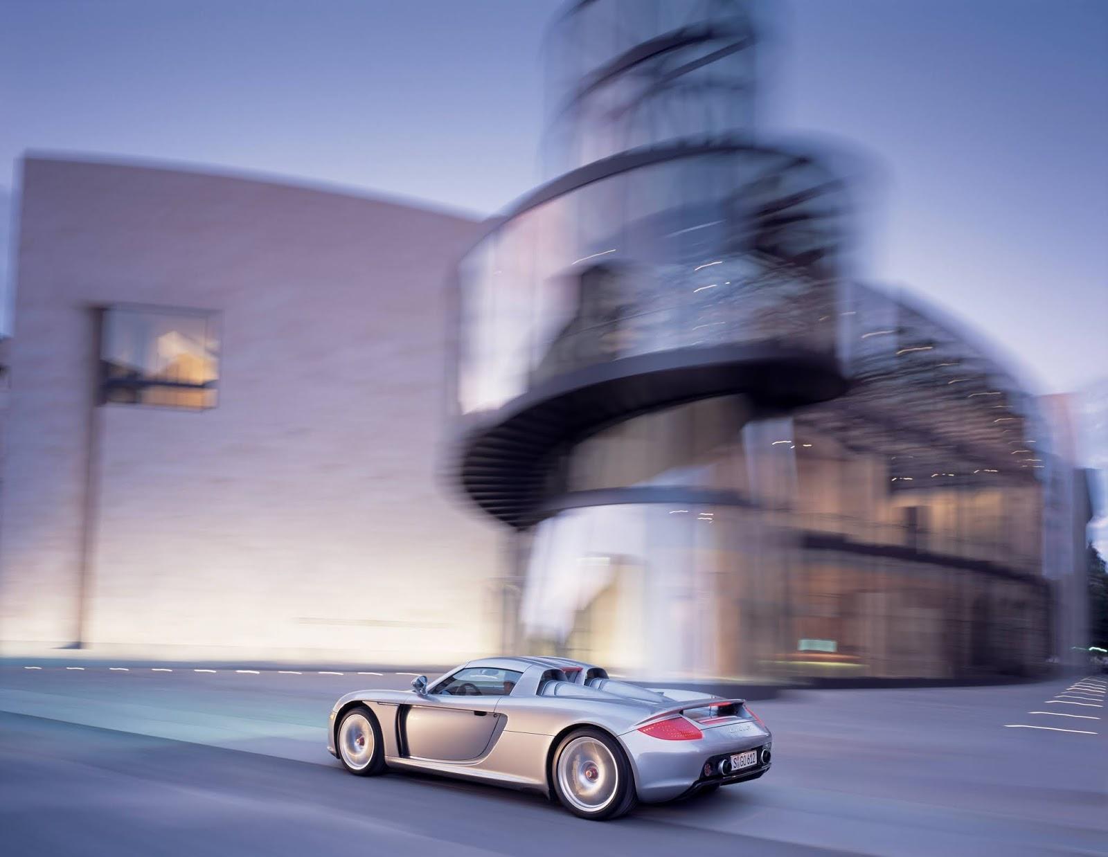 P03 1150 a4 Porsche Carrera GT : Ένα αγωνιστικό LeMans, για το δρόμο Carrera GT, Porsche, Porsche Carrera GT, retrocar, retrocar sunday, supercar, zblog