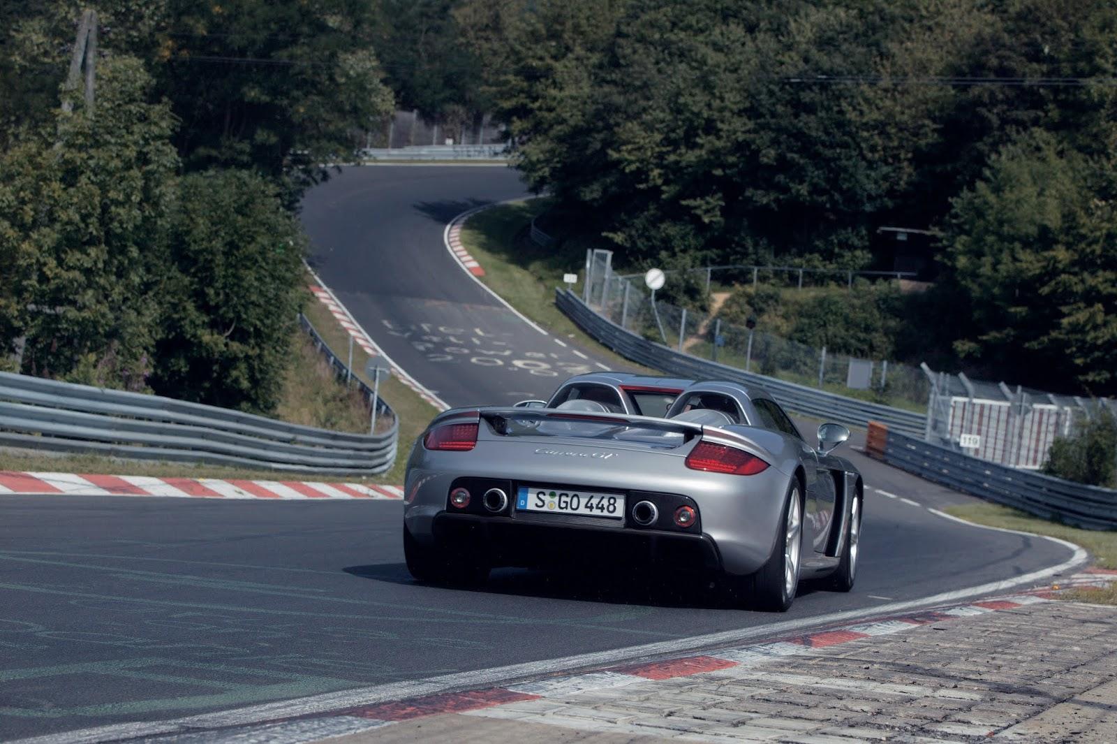 P05 0195 a4 Porsche Carrera GT : Ένα αγωνιστικό LeMans, για το δρόμο Carrera GT, Porsche, Porsche Carrera GT, retrocar, retrocar sunday, supercar, zblog