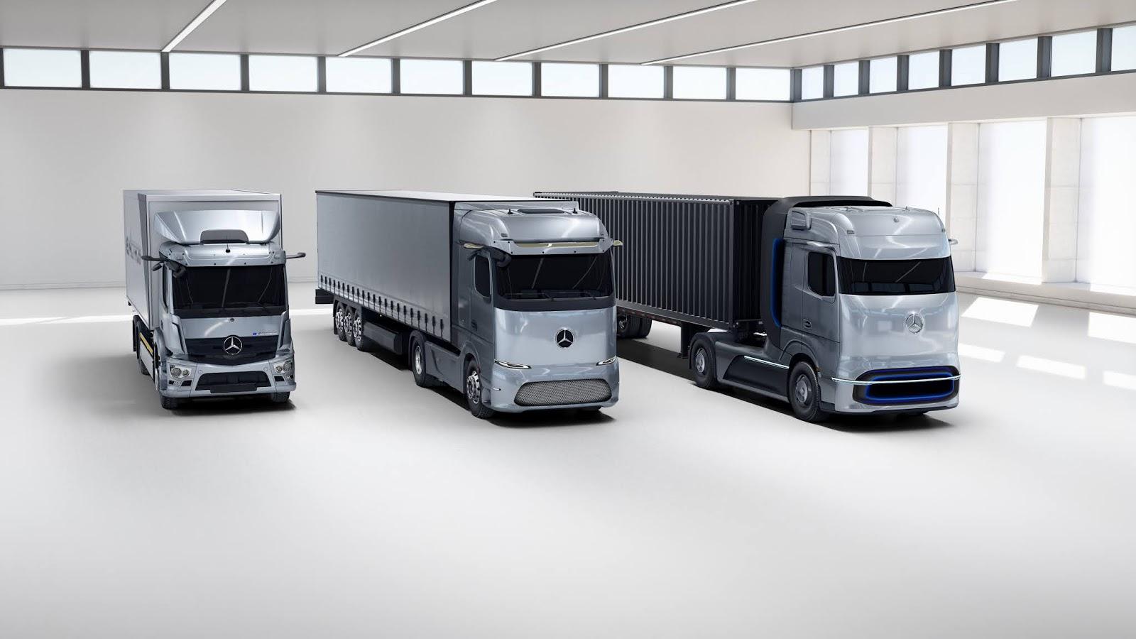 20C0706 06 Οι πρωτοπόροι της ηλεκτροκίνησης: το Mercedes-Benz eActros και το Mercedes-Benz GenH2 Truck κερδίζουν το βραβείο καινοτομίας «Truck Innovation Award 2021» electric trucks, EV, Mercedes, Mercedes Benz, ειδήσεις, Επαγγελματικά, Φορτηγά