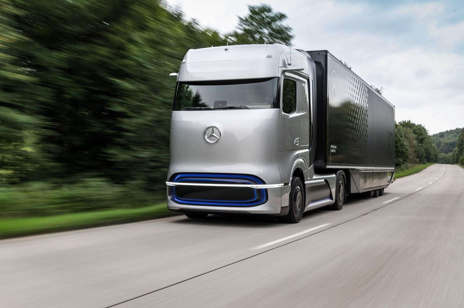 20C0706 07 Οι πρωτοπόροι της ηλεκτροκίνησης: το Mercedes-Benz eActros και το Mercedes-Benz GenH2 Truck κερδίζουν το βραβείο καινοτομίας «Truck Innovation Award 2021» electric trucks, EV, Mercedes, Mercedes Benz, ειδήσεις, Επαγγελματικά, Φορτηγά