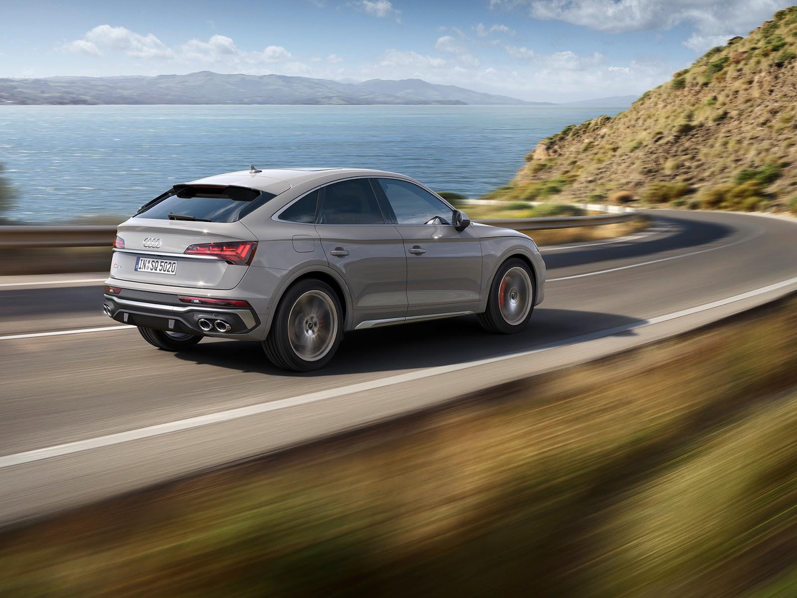 AUDI2BSQ52BSPORTBACK2BTDI 4 Audi SQ5 Sportback TDI: η σπορ έκδοση στην κορυφή της γκάμας του μοντέλου Audi, Audi SQ5, SQ5, ειδήσεις, καινούργιο, καινούρια, καινούριο