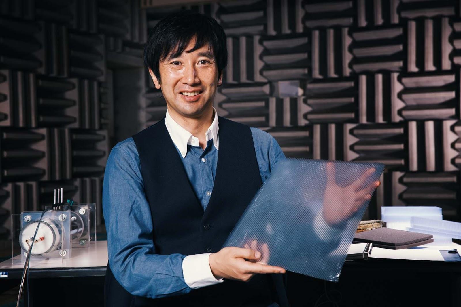Acoustic2Bmeta material Image01 Η καινοτομία της Nissan που κάνει τα αυτοκίνητα πιο αθόρυβα, κατέκτησε το βραβείο Popular Science Nissan, βραβείο, ειδήσεις, καινοτομία
