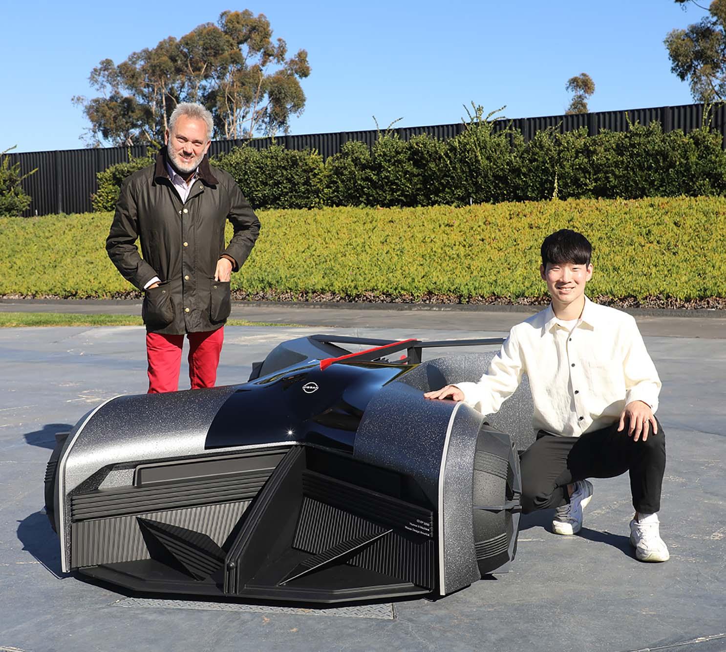 NDA2Bintern2Bproject David JB 16DEC2020 sq GT-R(X) 2050 : Η Nissan Design, ζωντανεύει το όνειρο ενός μελλοντικού σχεδιαστή
