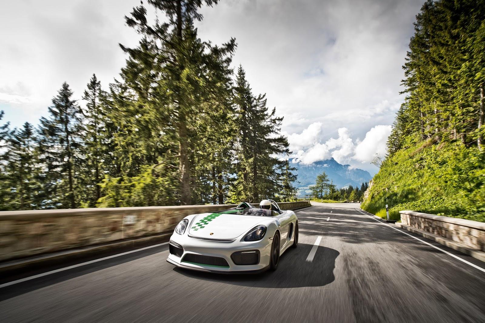 POR3483 Boxster Bergspyder : Η sprinter των Άλπεων Boxster Bergspyder, Porsche, Porsche Boxster, Porsche Unseen, Spin-offs, Sunday, zblog