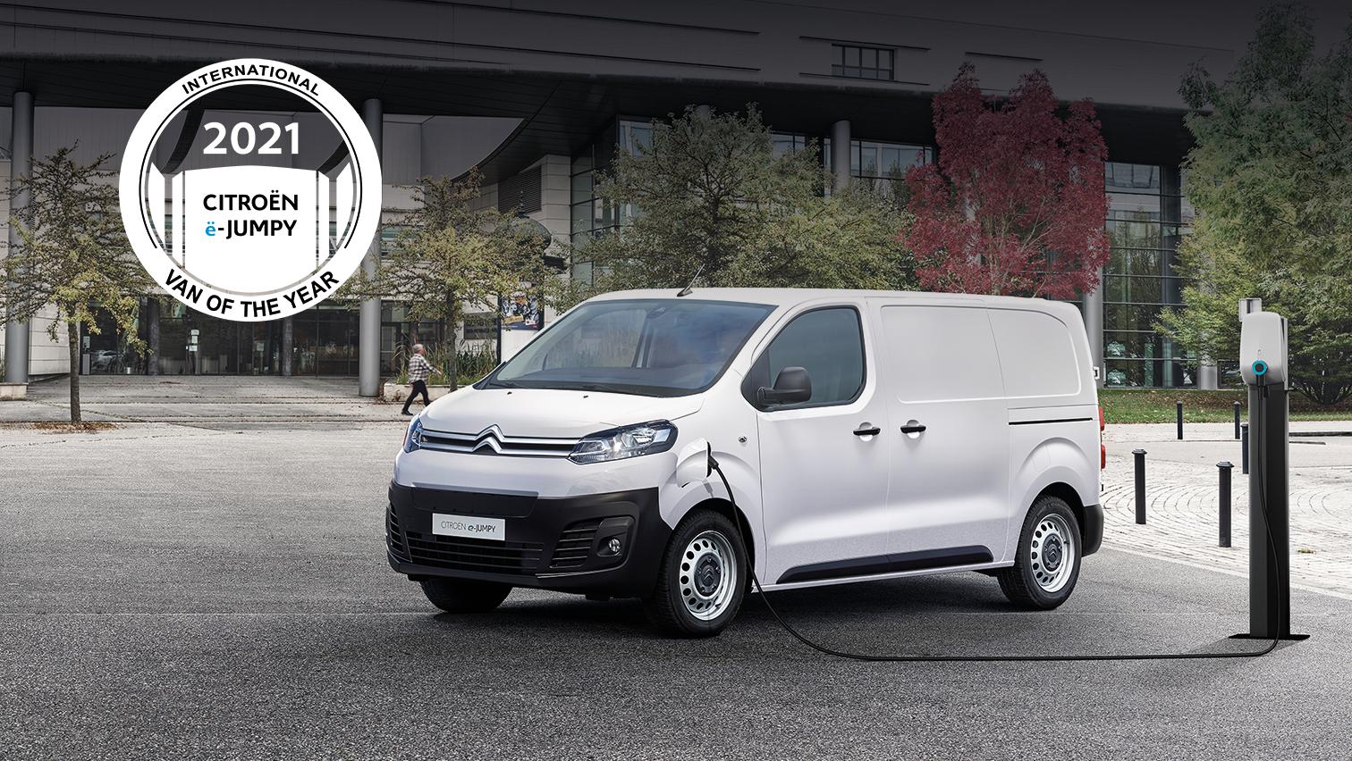 CITROËN Ë-JUMPY : International Van Of The Year, για το 2021