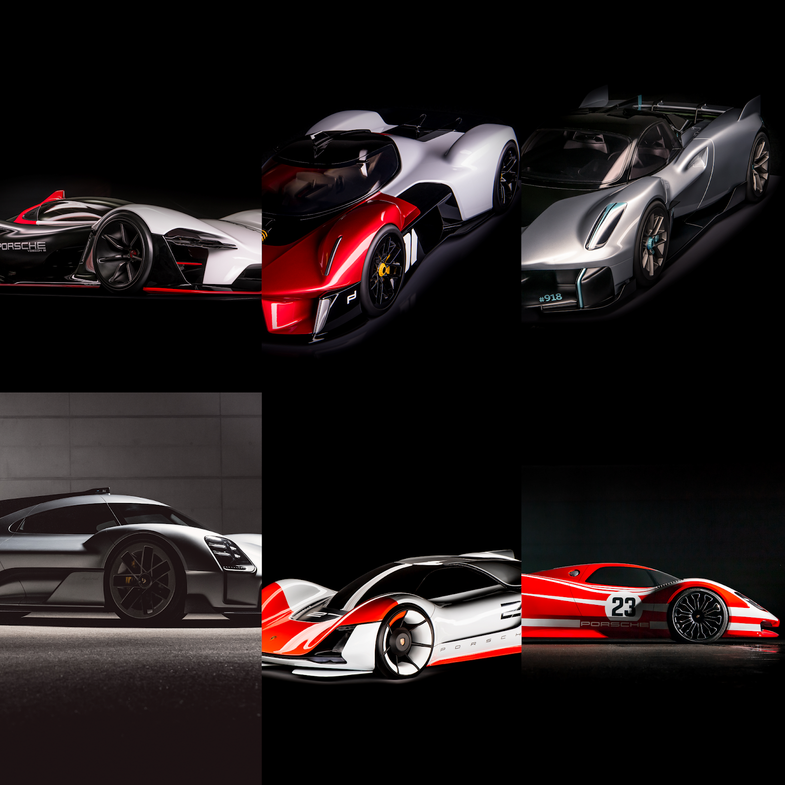 collage 1 Τα άγνωστα Hypercars της Porsche