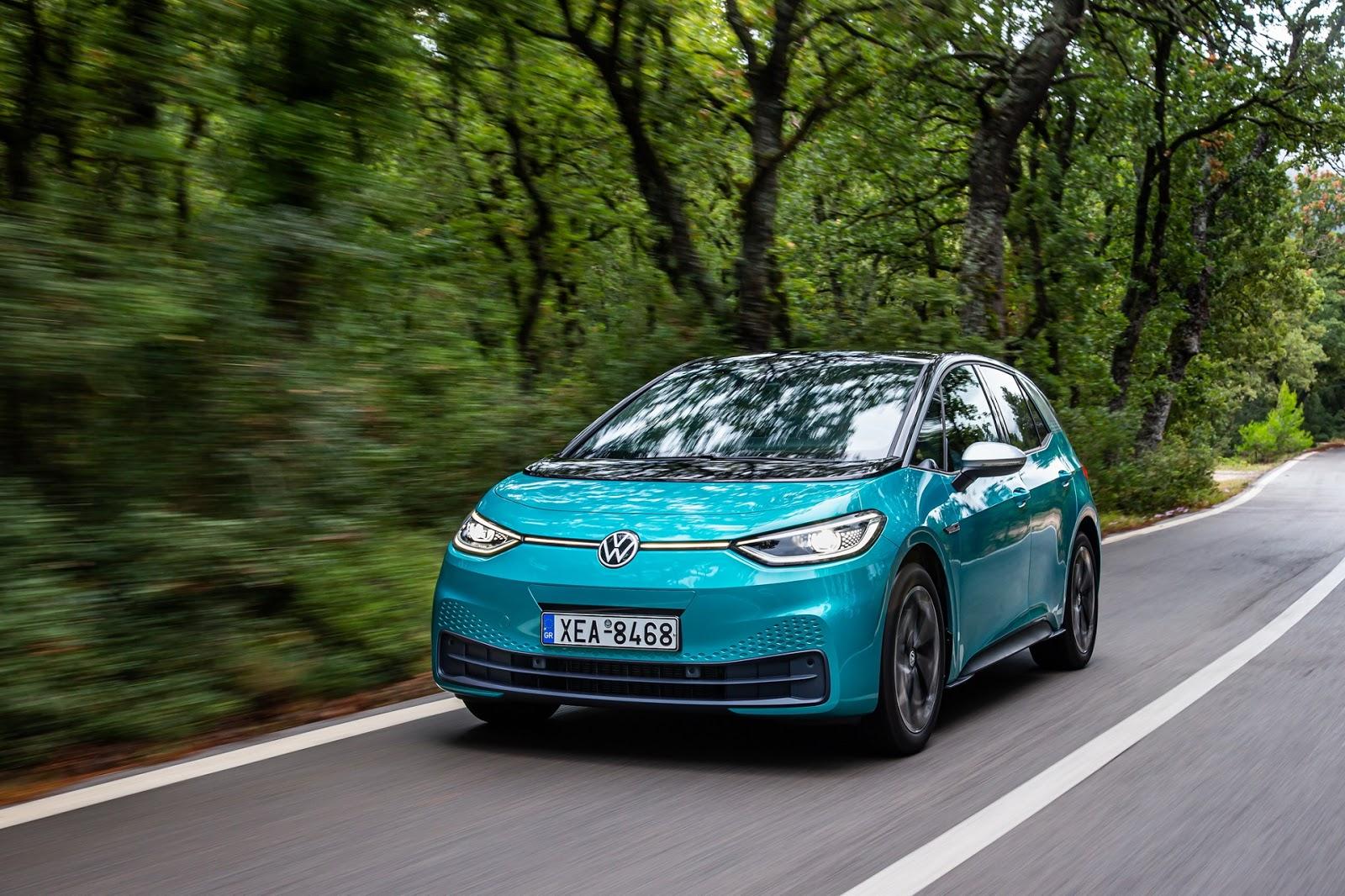 ID.3 Το Volkswagen Group μειώνει σημαντικά τον μέσο όρο ρύπων CO2 του Volkswagen Group, ειδήσεις