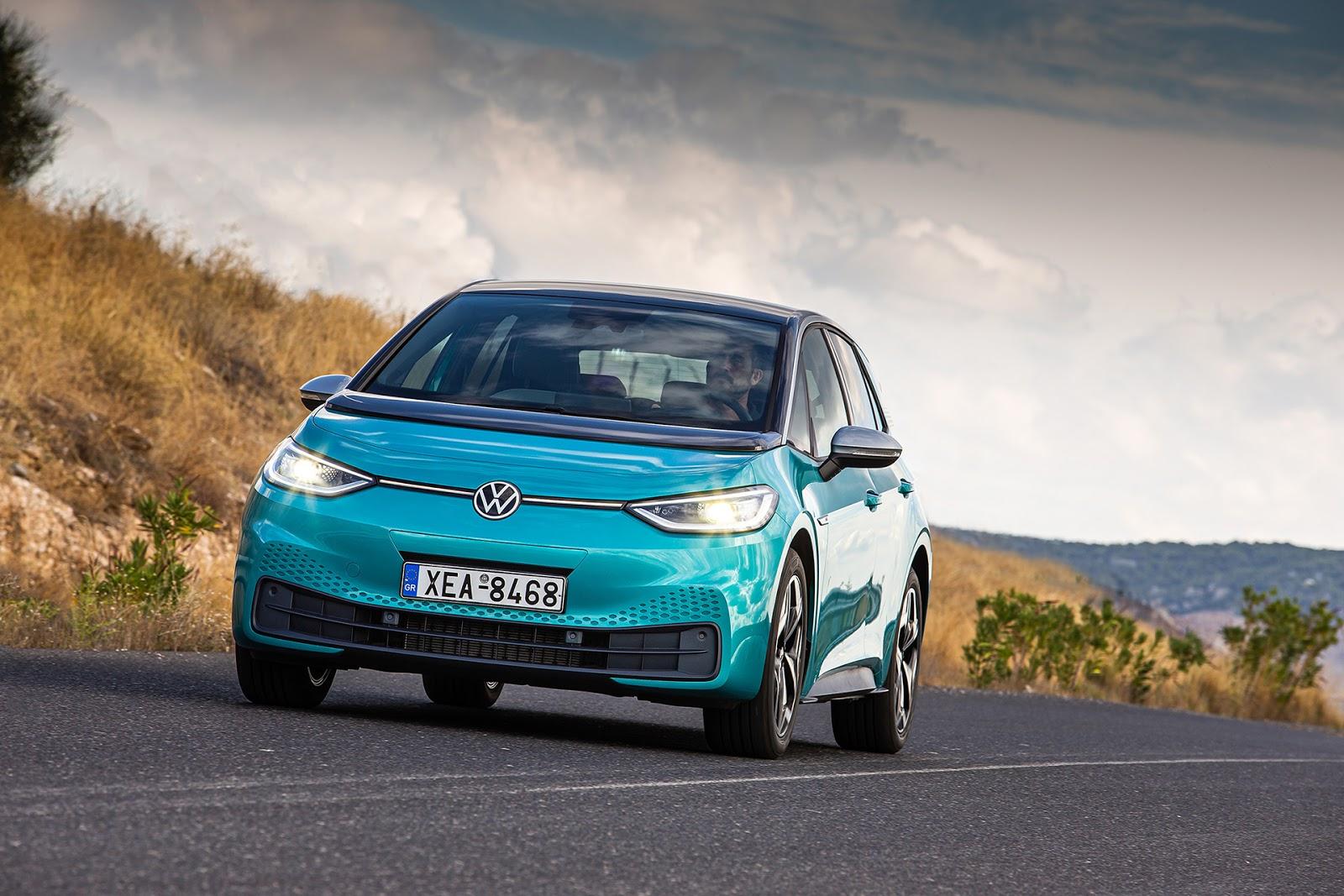 ID.3 1 Volkswagen : Ο έξυπνος τρόπος ανάκτησης ενέργειας των ID.3 και ID.4