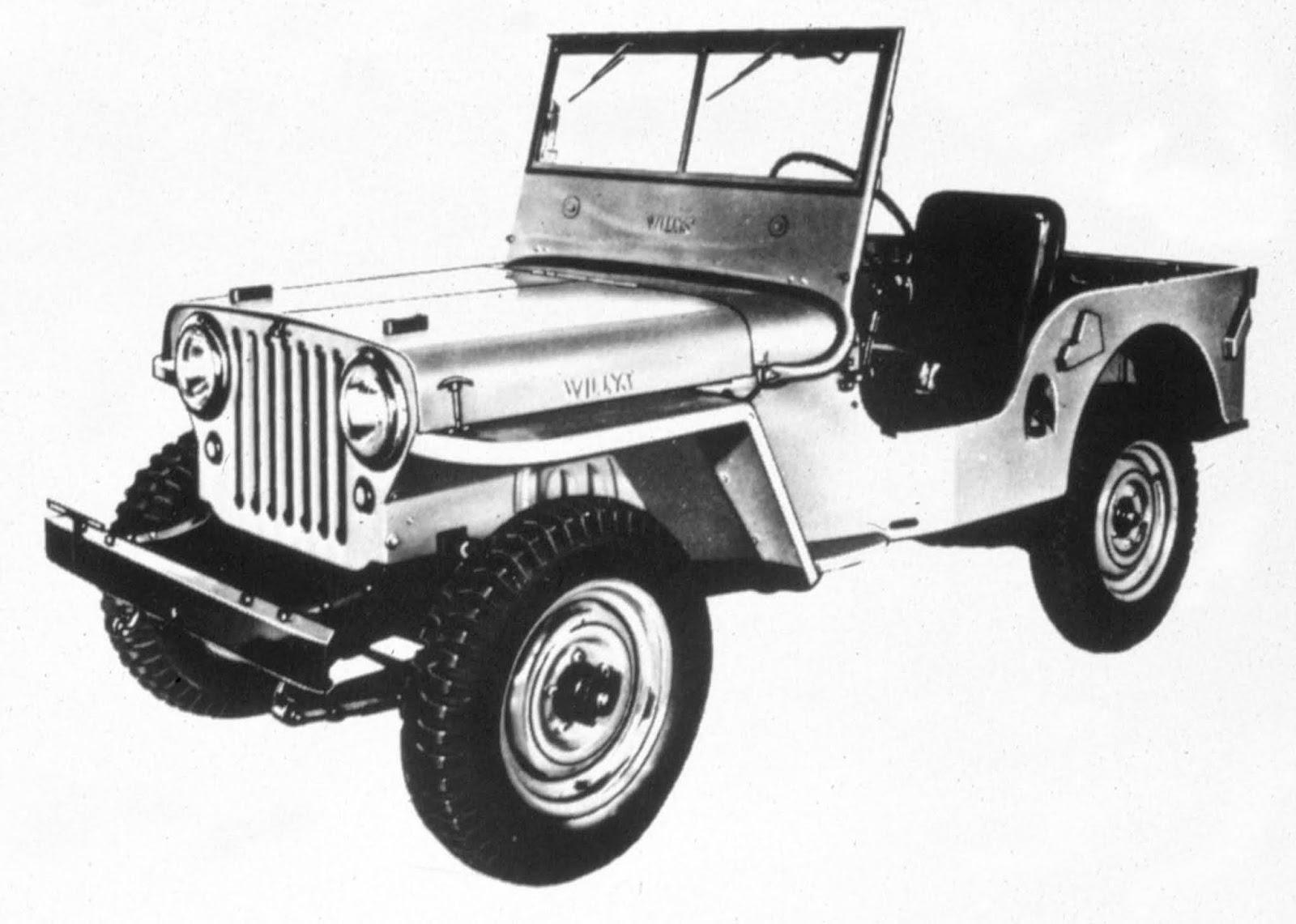 1945 Jeep CJ 2A Πώς... βασάνισαν το Jeep Willy's μέχρι να φτάσει στην παραγωγή Jeep, Jeep Willys, video, videos, Willys, zblog, ειδήσεις, ιστορικα