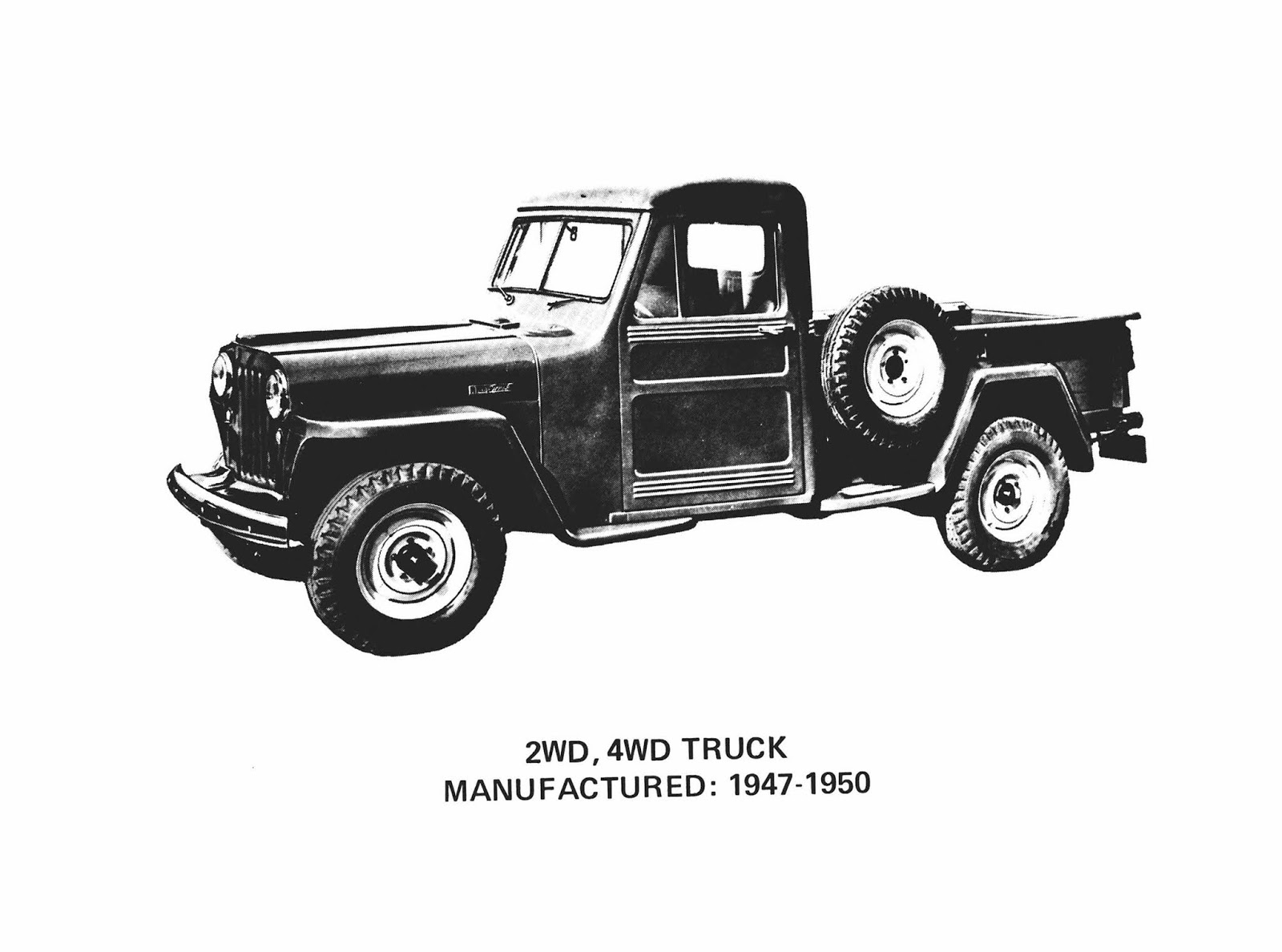 1947jeeeppickuptruck 6037876e389db To Jeep Gladiator, έρχεται να αλλάξει τα δεδομένα στην κατηγορία των pick-up Gladiator, Jeep, Jeep Gladiator, zblog, ειδήσεις