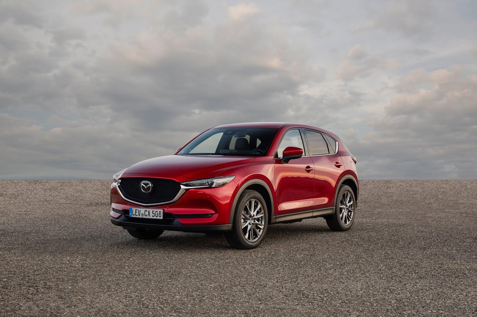 2021 Mazda CX 5 Soul Red Mazda CX-5 2021 : Συνολική αναβάθμιση