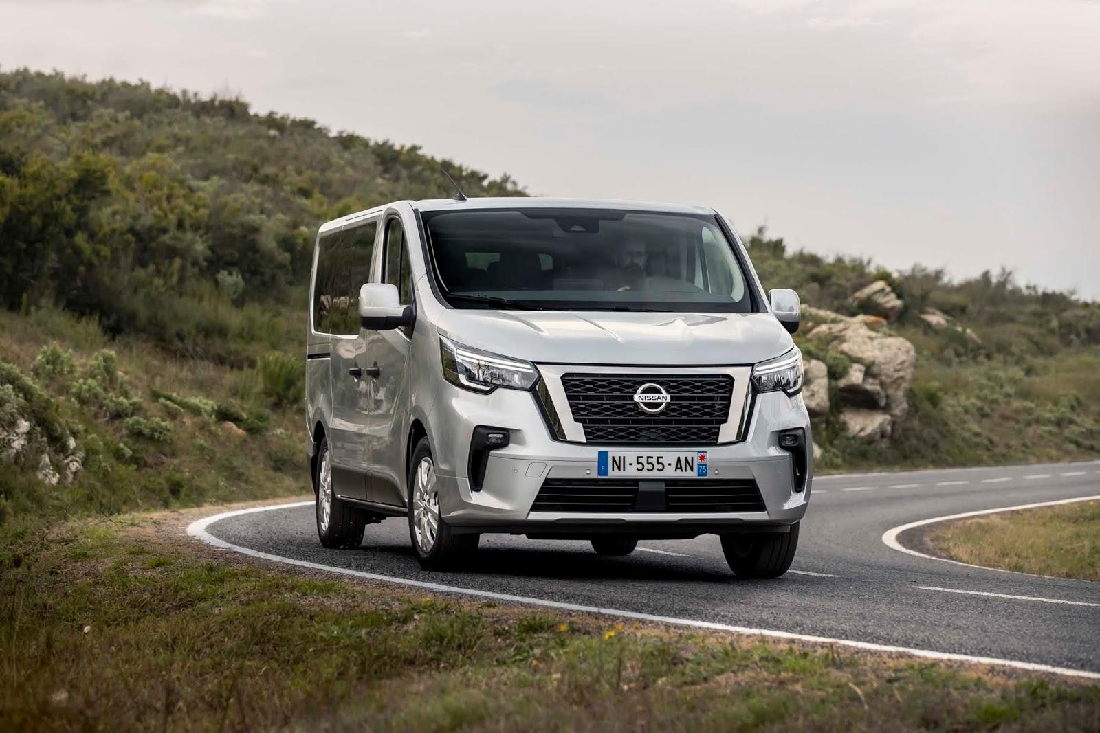 New2BNV3002BCombi2BDynamic2B2 Nissan : Αισθητικές αναβαθμίσεις, βελτιωμένο κινητήριο σύνολο και νέες τεχνολογίες ασφαλείας για το NV300 Combi (& video)