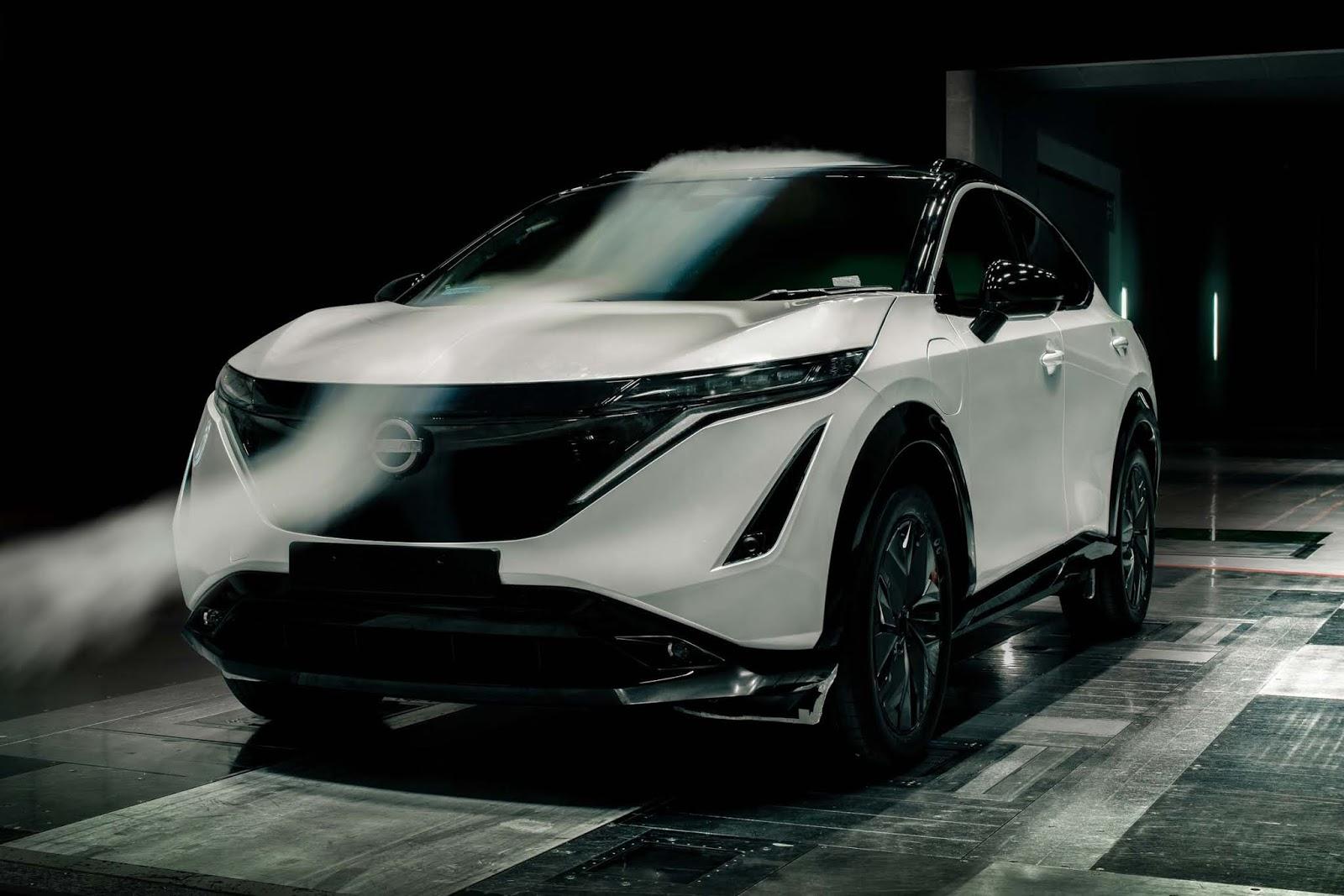 Nissan2BAriya2BAerodynamics 2 To Ariya είναι το πιο αεροδυναμικό Nissan crossover που κατασκευάστηκε ποτέ (& video) Ariya, Nissan, Nissan Ariya, ειδήσεις