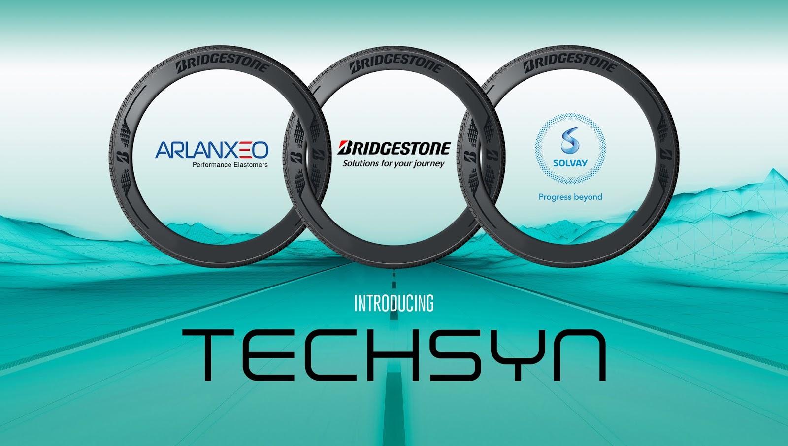 TECHSYN2Blaunch2Bimage Τι νέο φέρνει η τεχνολογία TECHSYN των Bridgestone, ARLANXEO και Solvay Arlanxeo, Bridgestone, Solvay, ειδήσεις, Ελαστικά