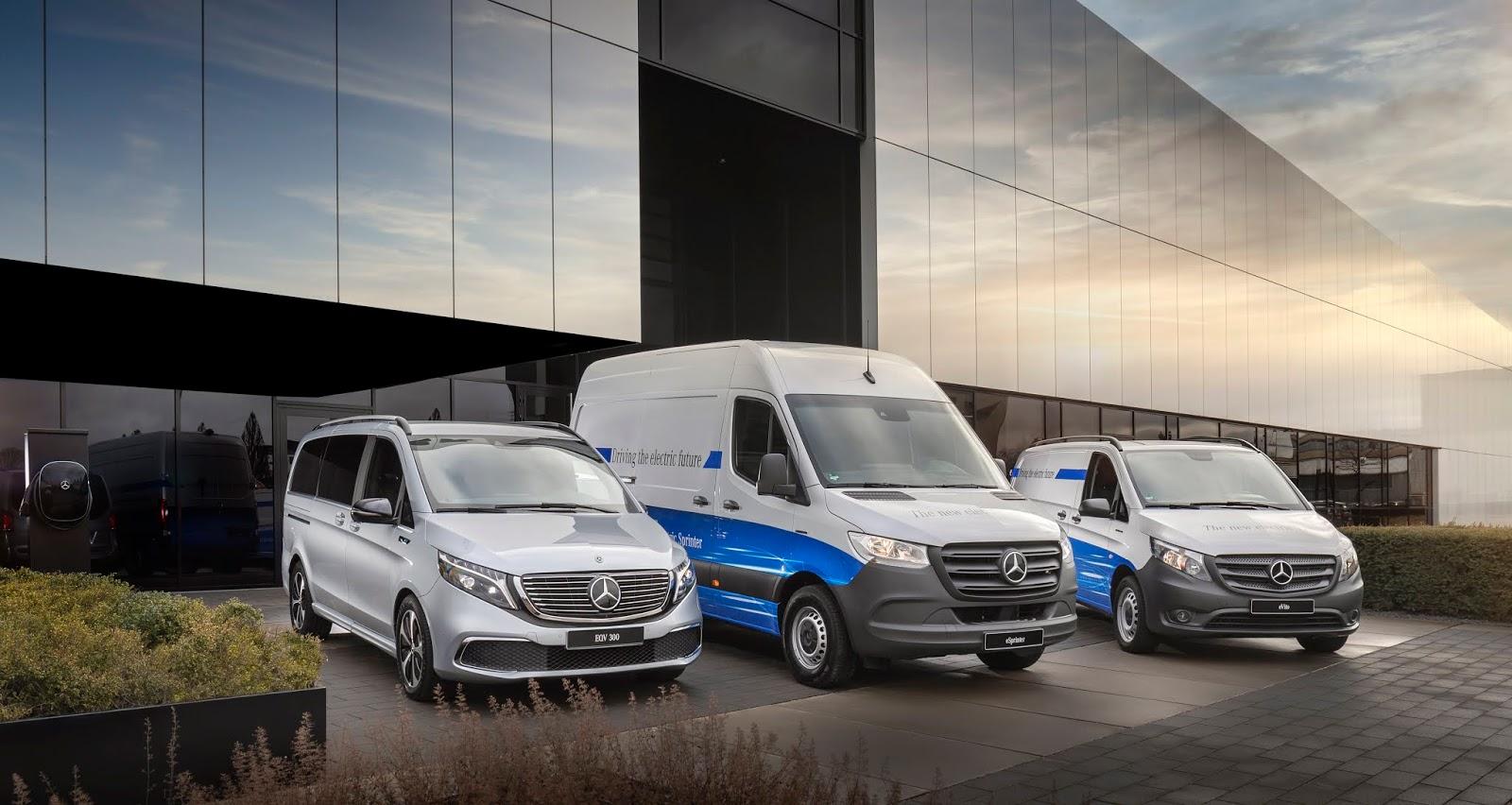 21C0112 001 1 Mercedes-Benz Vans : Μήπως σας κάνει και εσάς η ηλεκτροκίνηση;