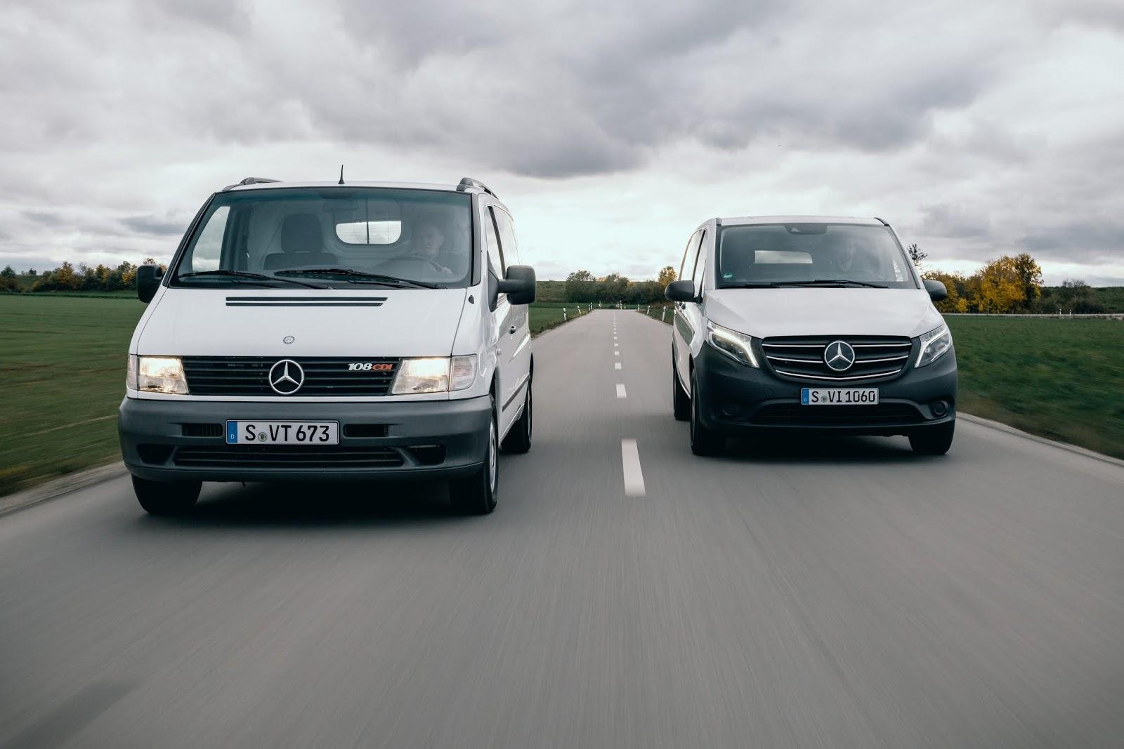 21C0120 001 Mercedes-Benz Vito : Συνεργάτης εδώ και 25 χρόνια