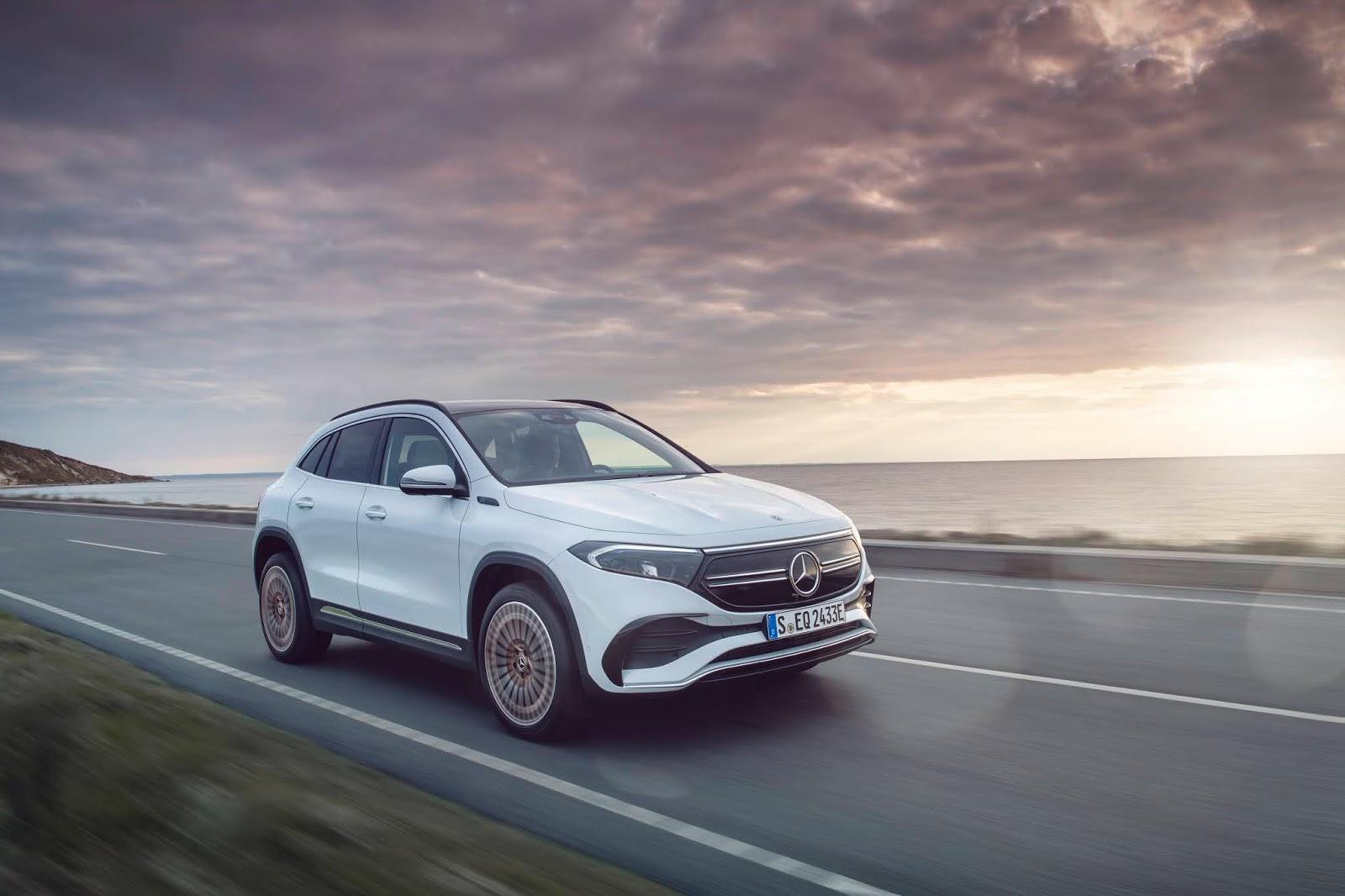 EQA Ακόμα περισσότερες υπηρεσίες για τα Mercedes-Benz & smart EQ, στο 2021