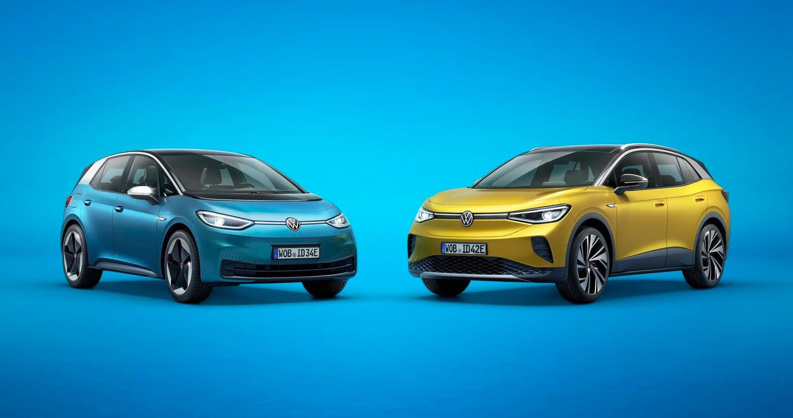 VOLKSWAGEN ID.32B25262BID.4 Volkswagen : Κυρίαρχη στην ηλεκτροκίνηση το 2021 Electric cars, electric vehicles, Hybrid, plug-in hybrid, Volkswagen, zblog, ειδήσεις, ηλεκτρικά, ηλεκτροκινηση, υβριδικό
