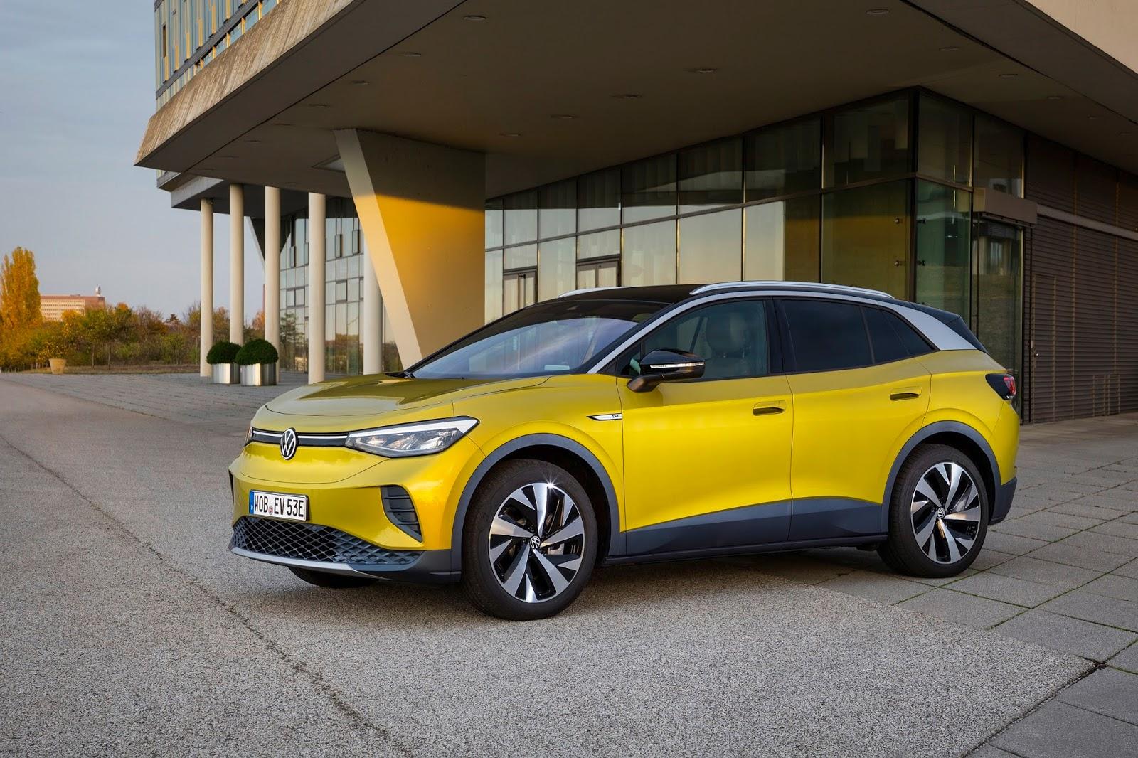 VOLKSWAGEN ID.4 Volkswagen : Κυρίαρχη στην ηλεκτροκίνηση το 2021 Electric cars, electric vehicles, Hybrid, plug-in hybrid, Volkswagen, zblog, ειδήσεις, ηλεκτρικά, ηλεκτροκινηση, υβριδικό