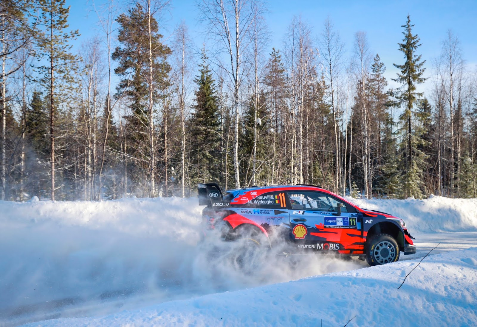 i202BWRC Arctic Rally Finland 1 Διπλή νίκη για την Hyundai στο Arctic Rally Finland Arctic Rally, Hyundai, Hyundai i20, Hyundai i20 WRC, ειδήσεις